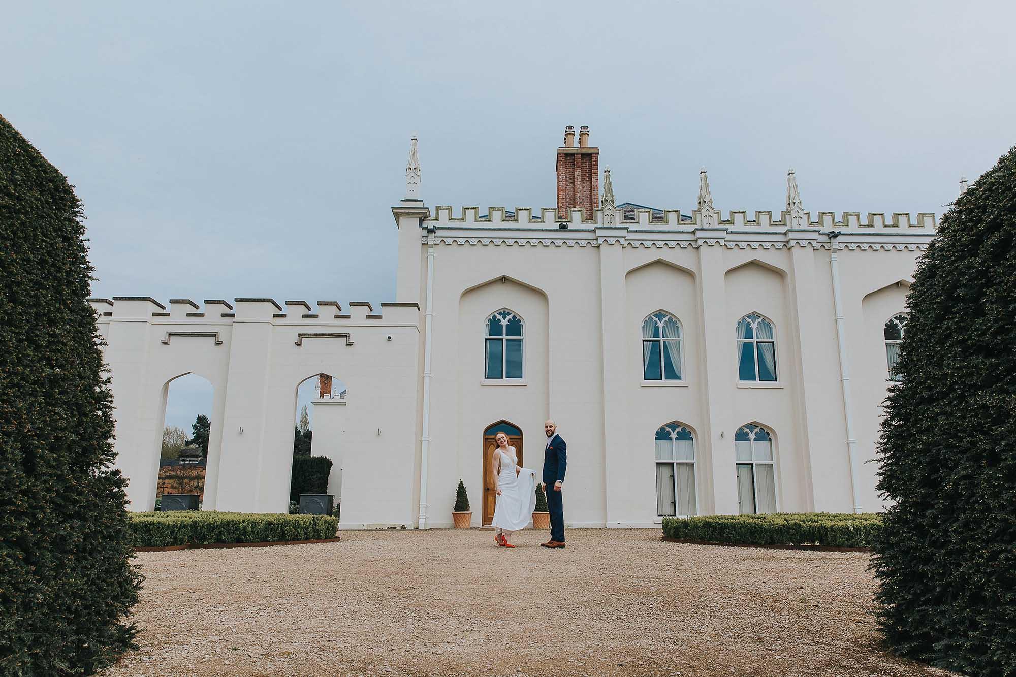 Combermere Abbey Cheshire wedding venue