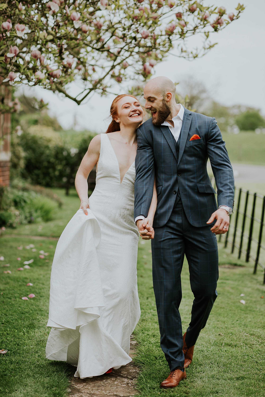 fun wedding photographer in Cheshire