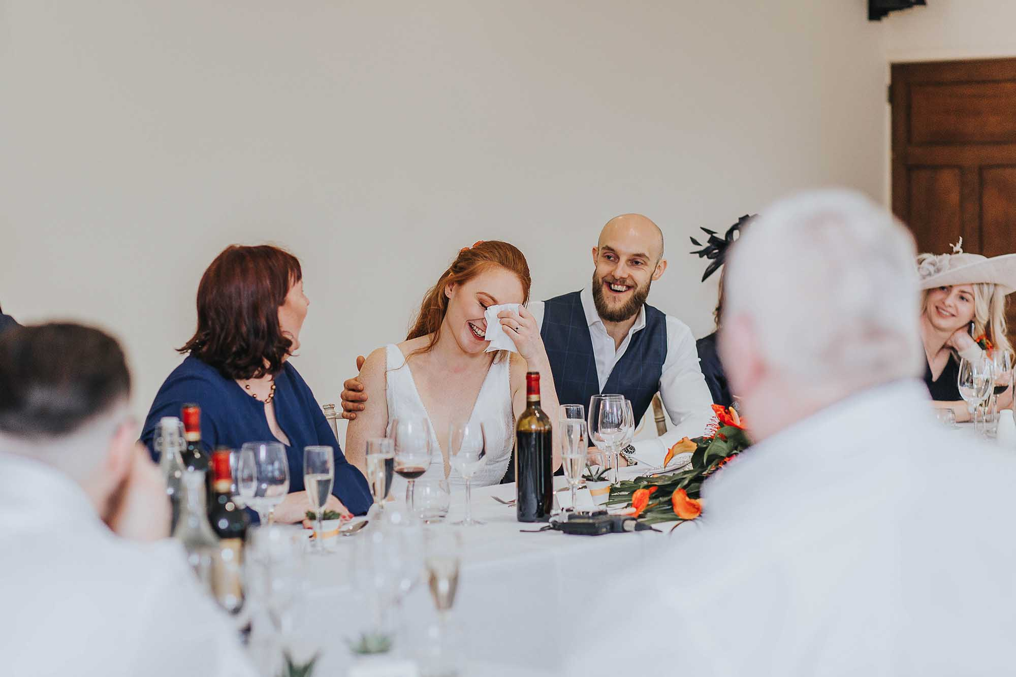 speeches at Combermere Abbey