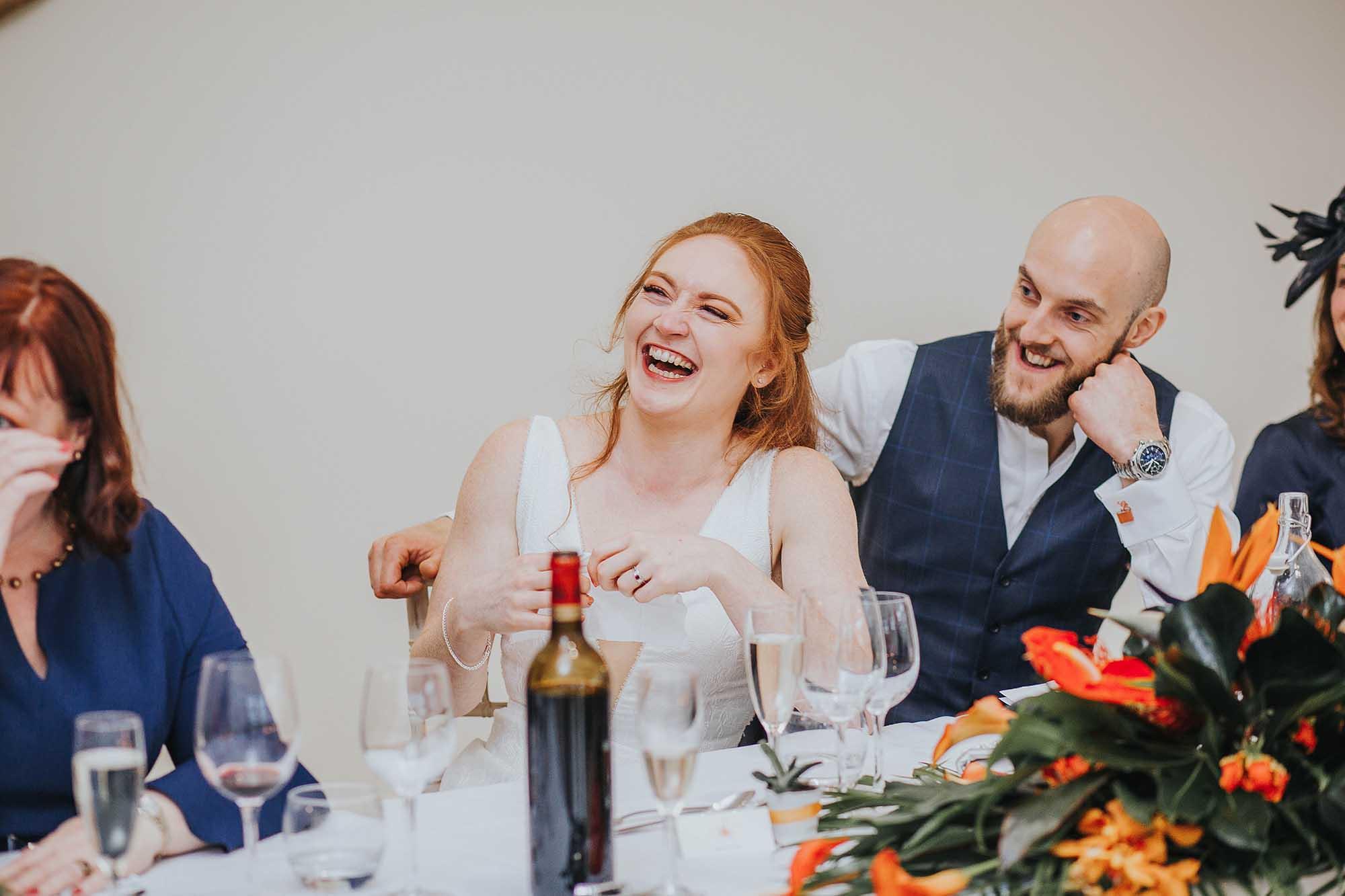 Combermere Abbey wedding speeches
