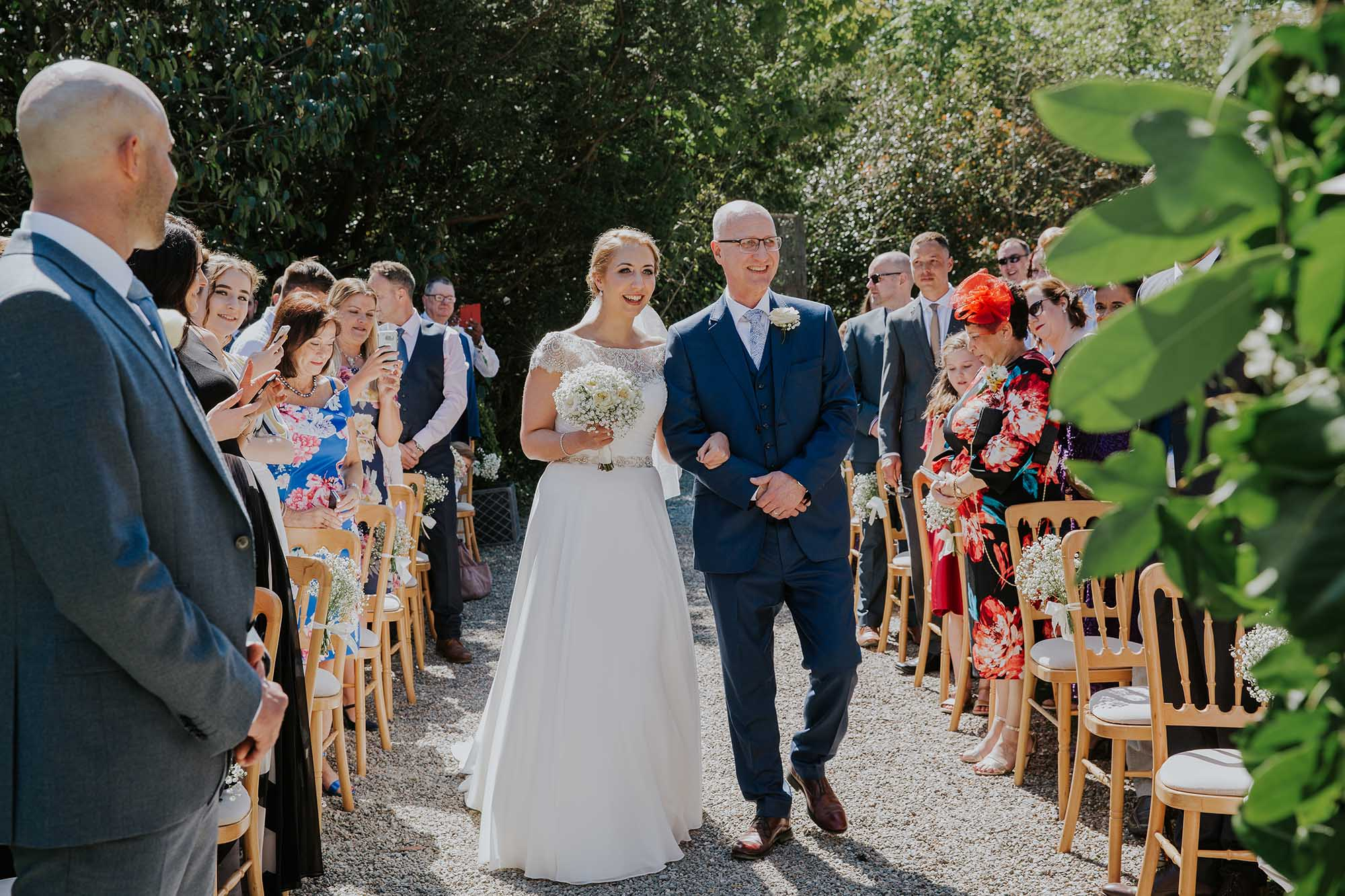 tros yr afon wedding ceremony