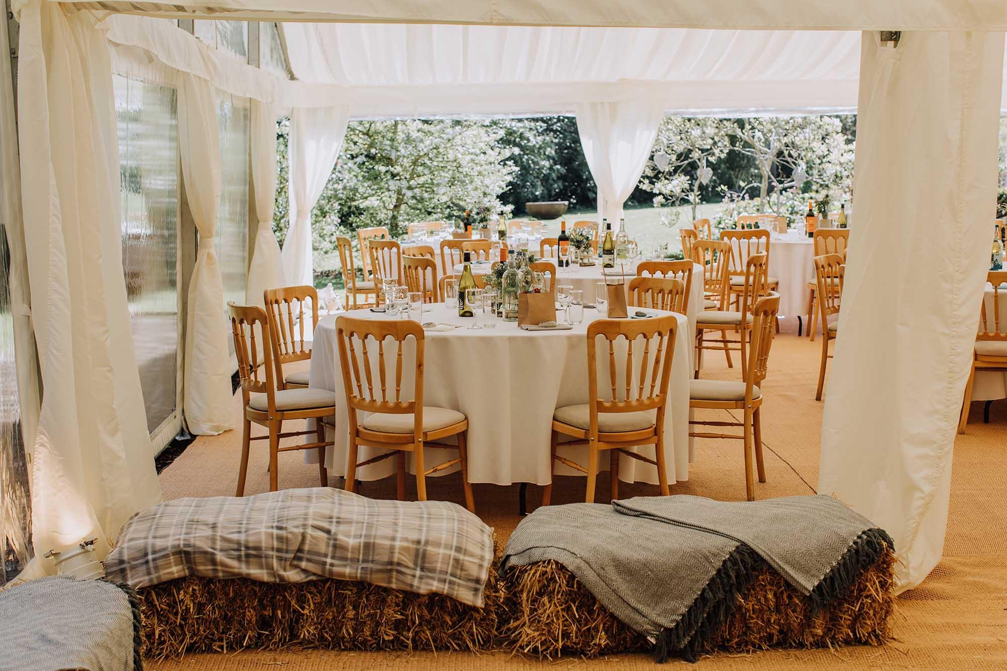 rustic Welsh wedding