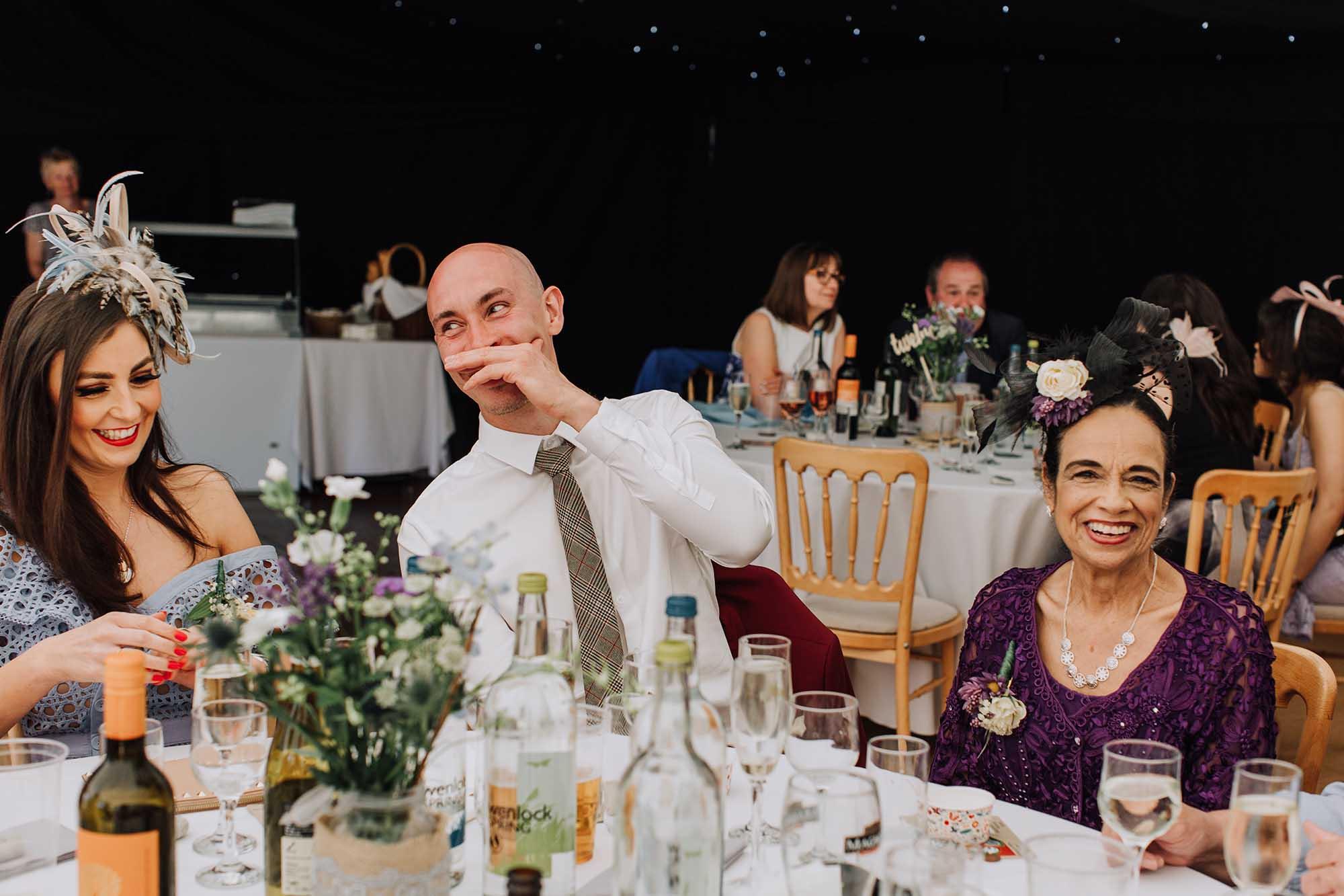 fun wedding photographer Wales