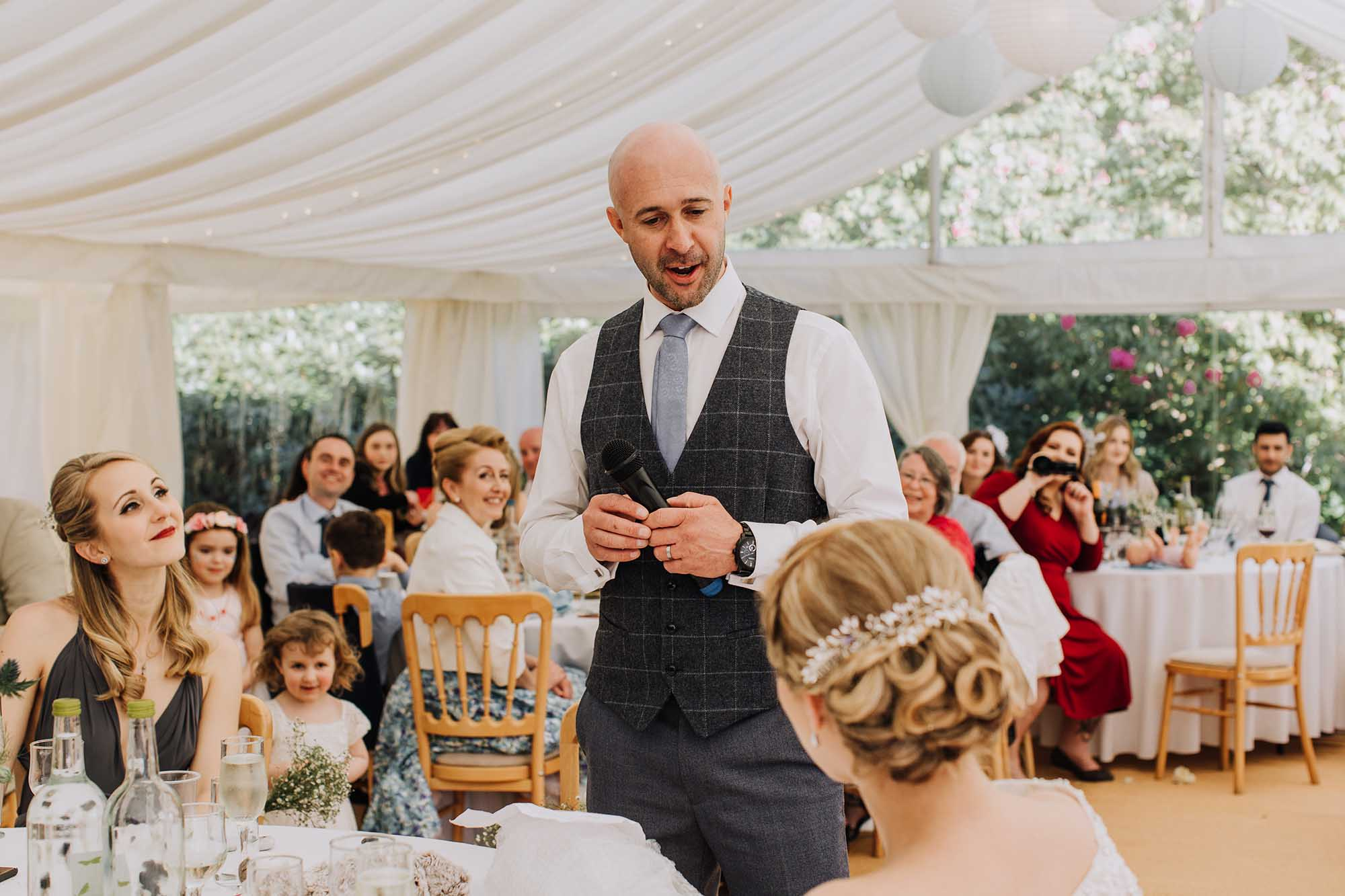 Marquee speeches tros yr afon anglesey