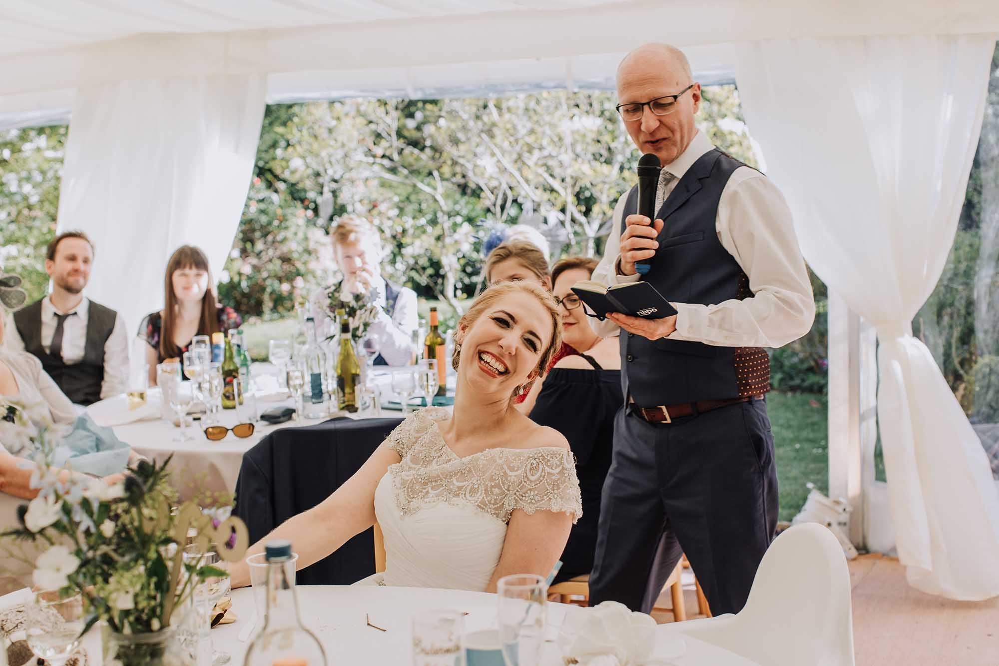 fun wedding photographer in Anglesey