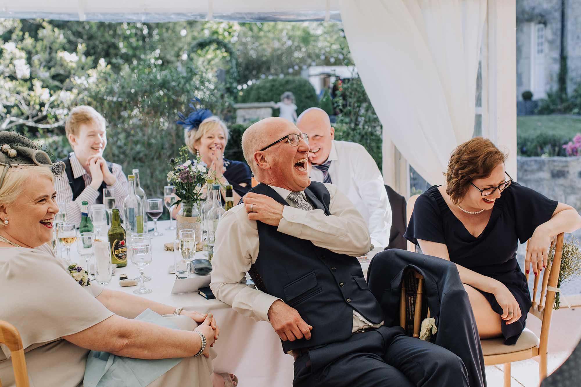 fun wedding photos Wales