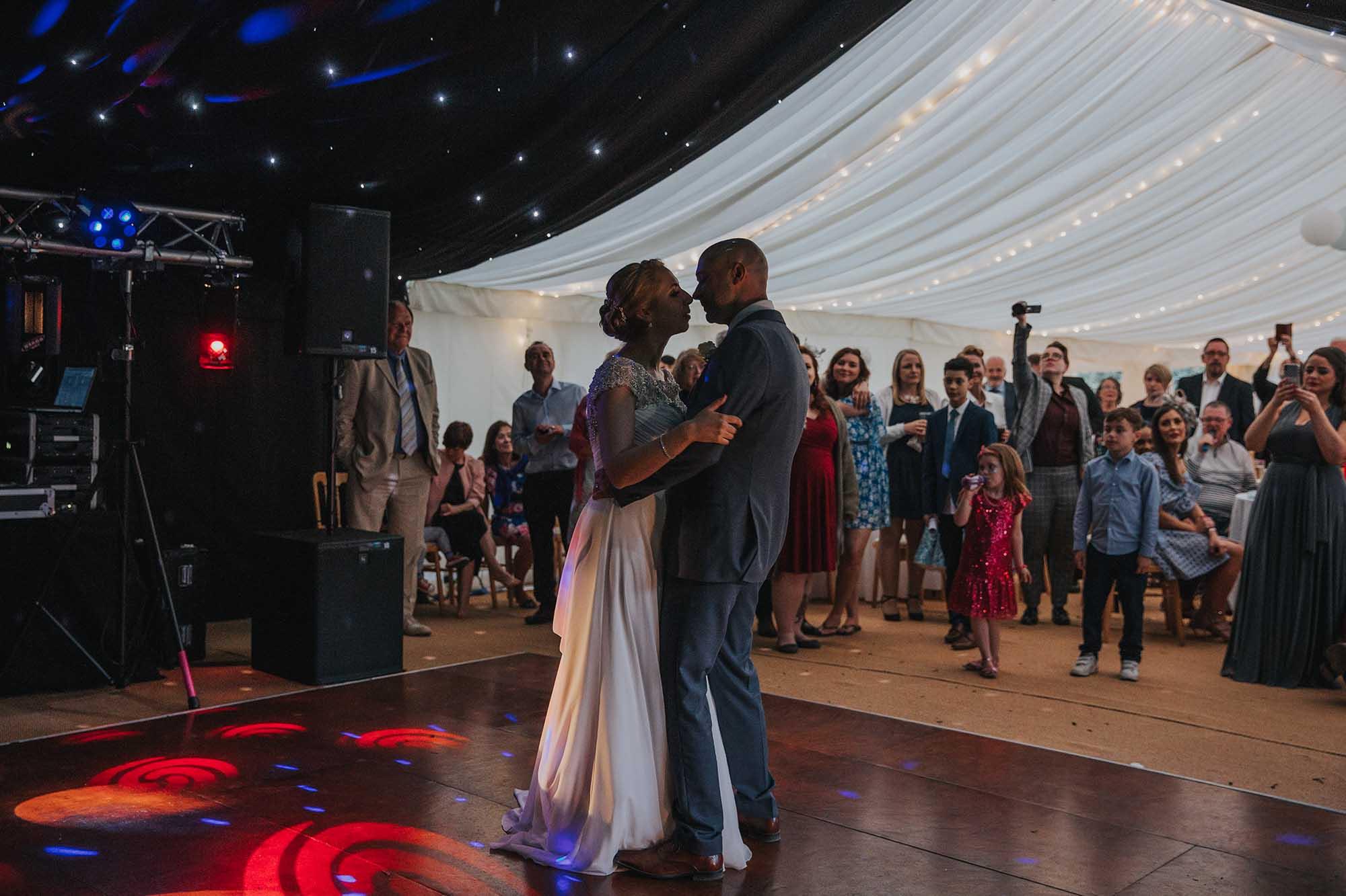 tros yr afon evening wedding reception