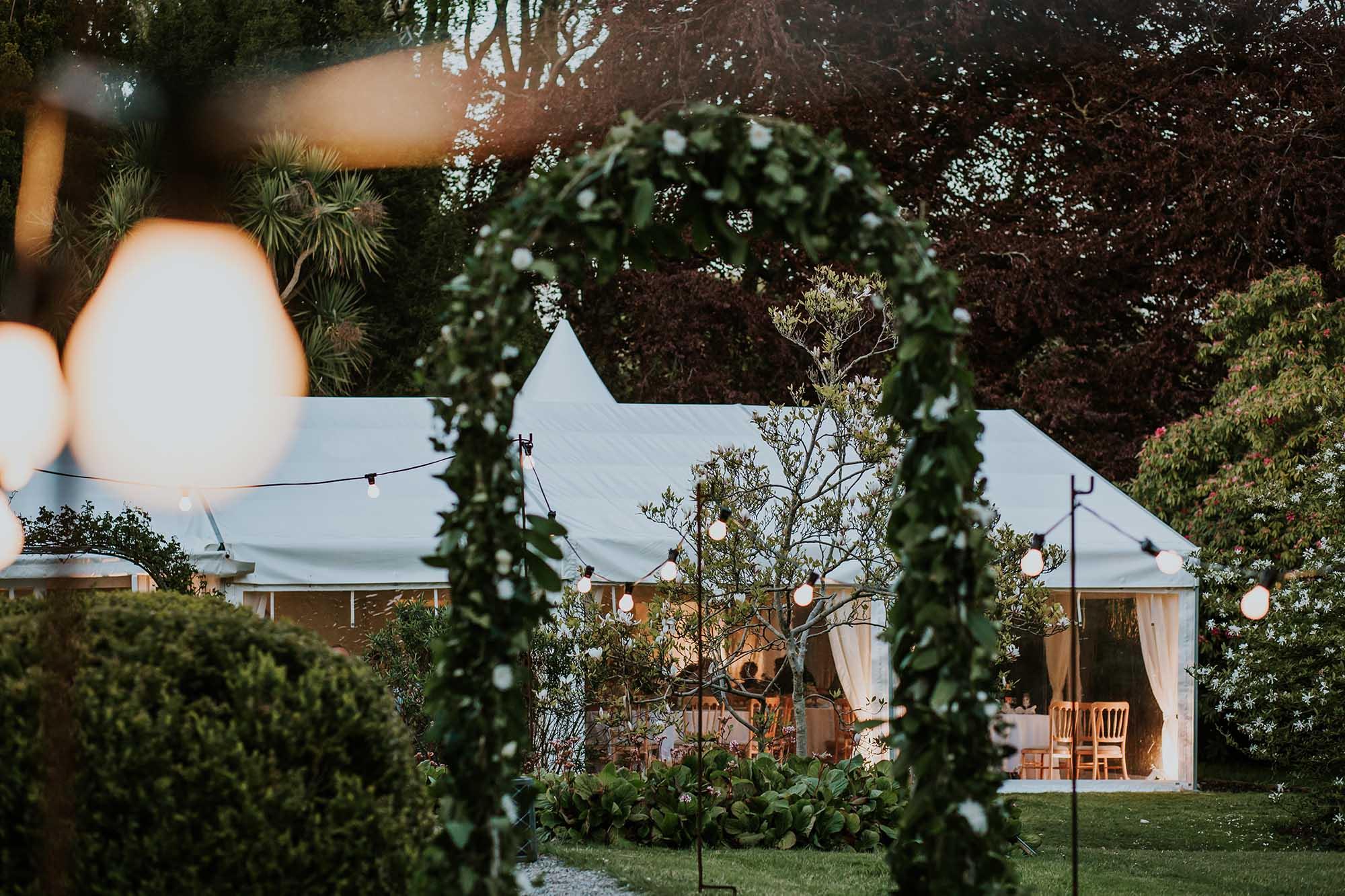 wedding reception tros yr afon anglesey