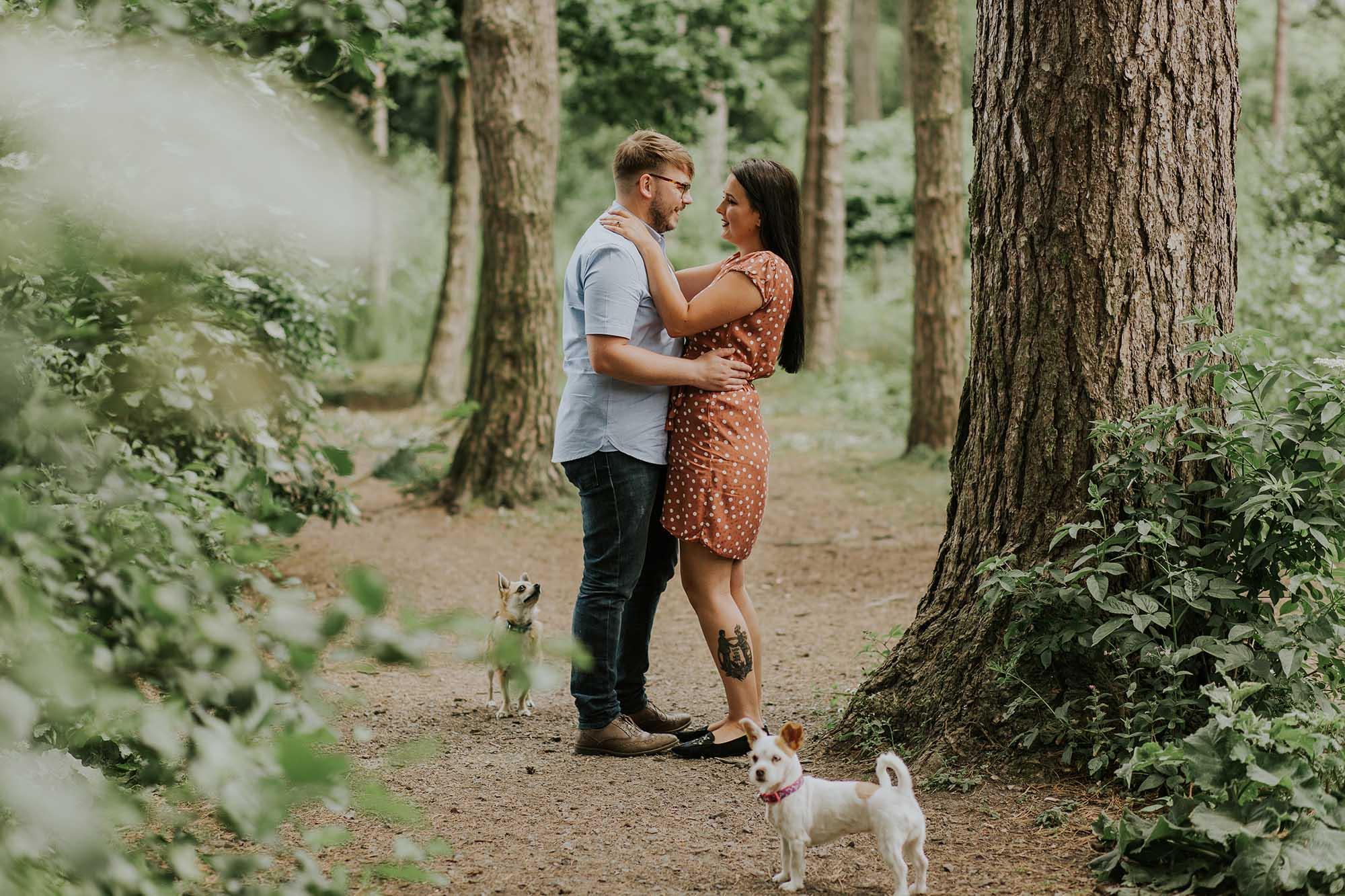Ceurden Valley Park engagement photography