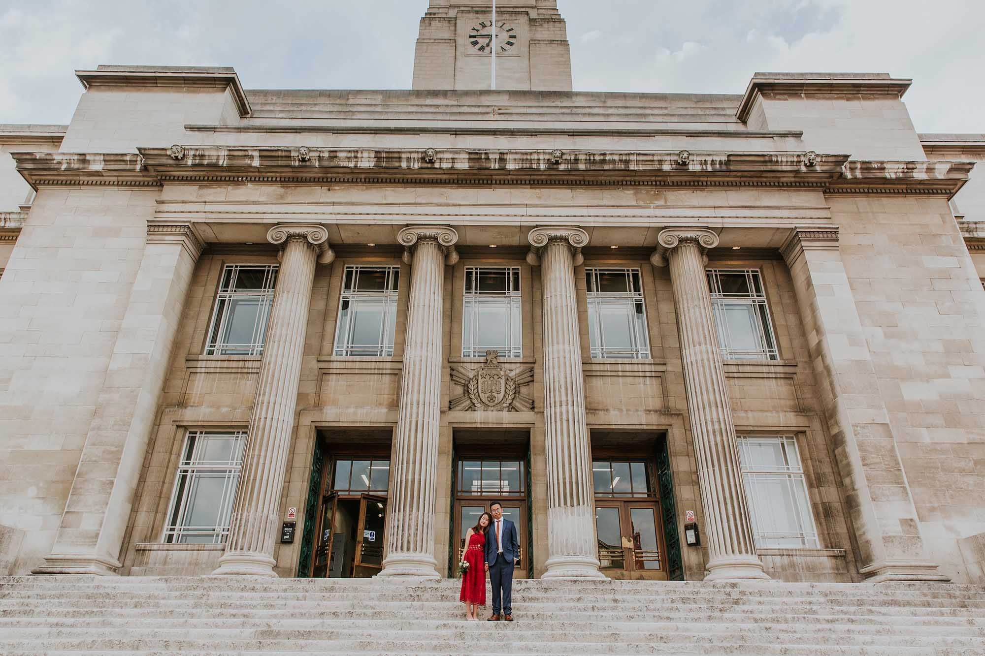 city centre wedding photographer Leeds