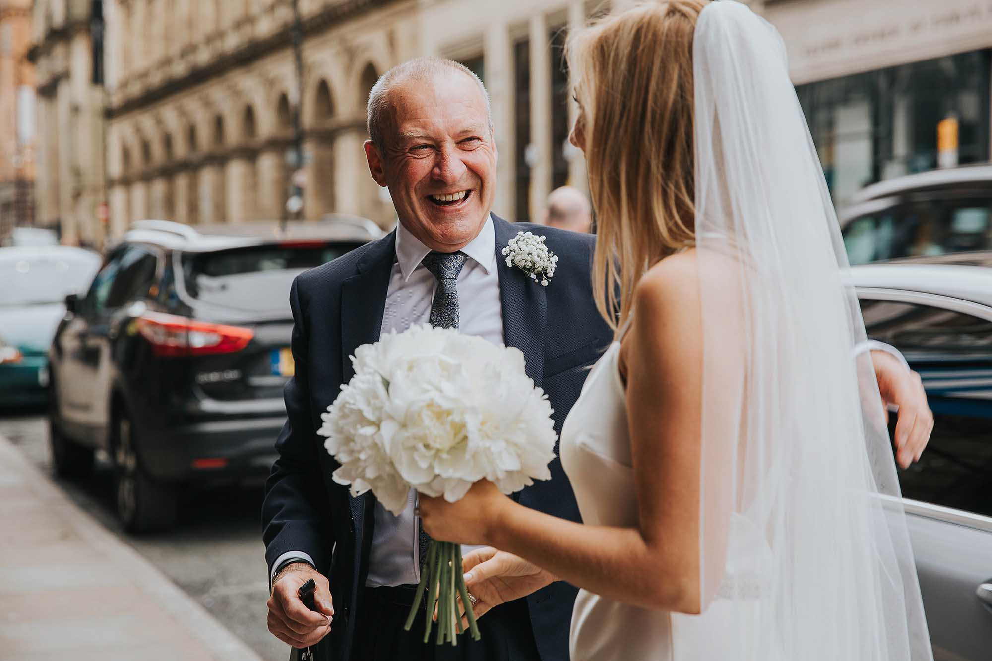 fun wedding photography Manchester