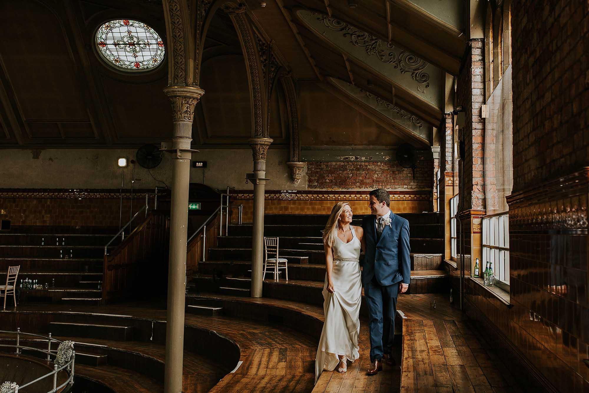 inside the Albert Hall Manchester