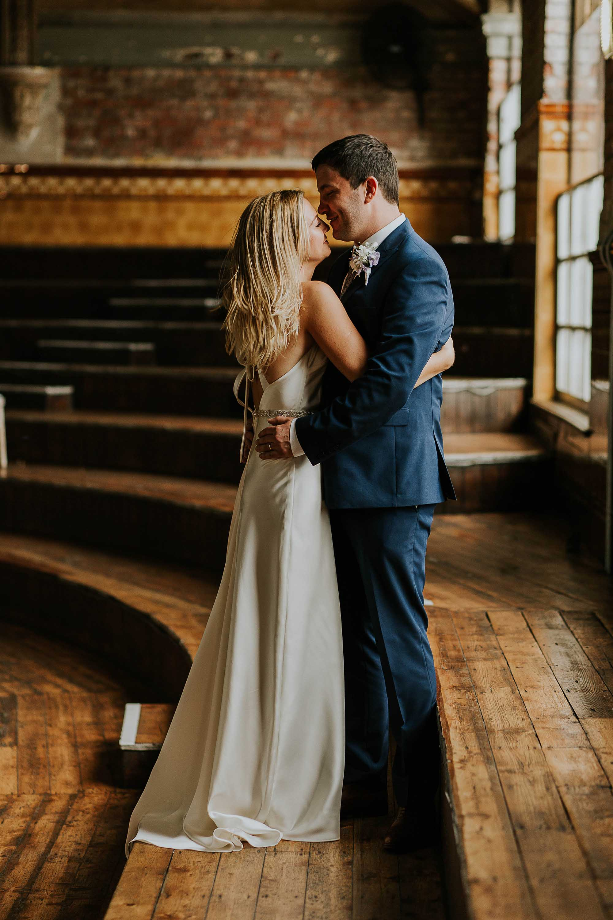 wedding photography at the Albert Hall Manchester