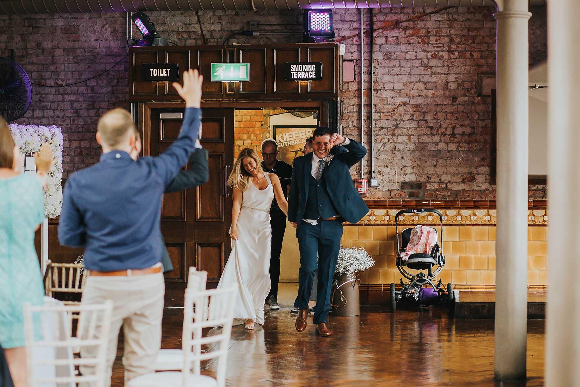 fun wedding Manchester city centre