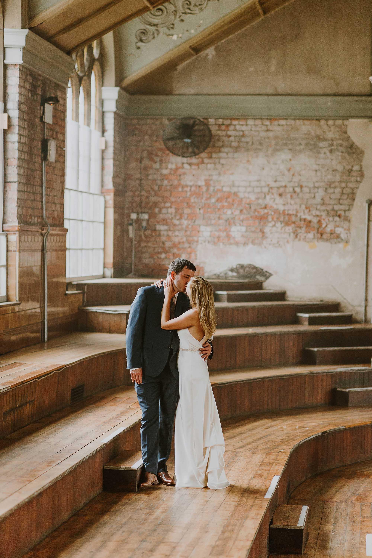 Albert Hall Manchester warm natural wedding photography