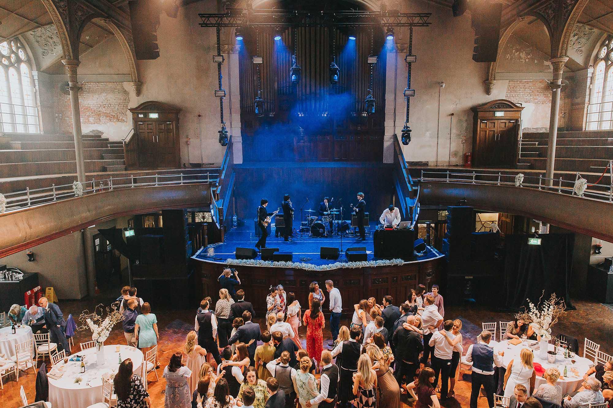 Albert Hall Manchester wedding party