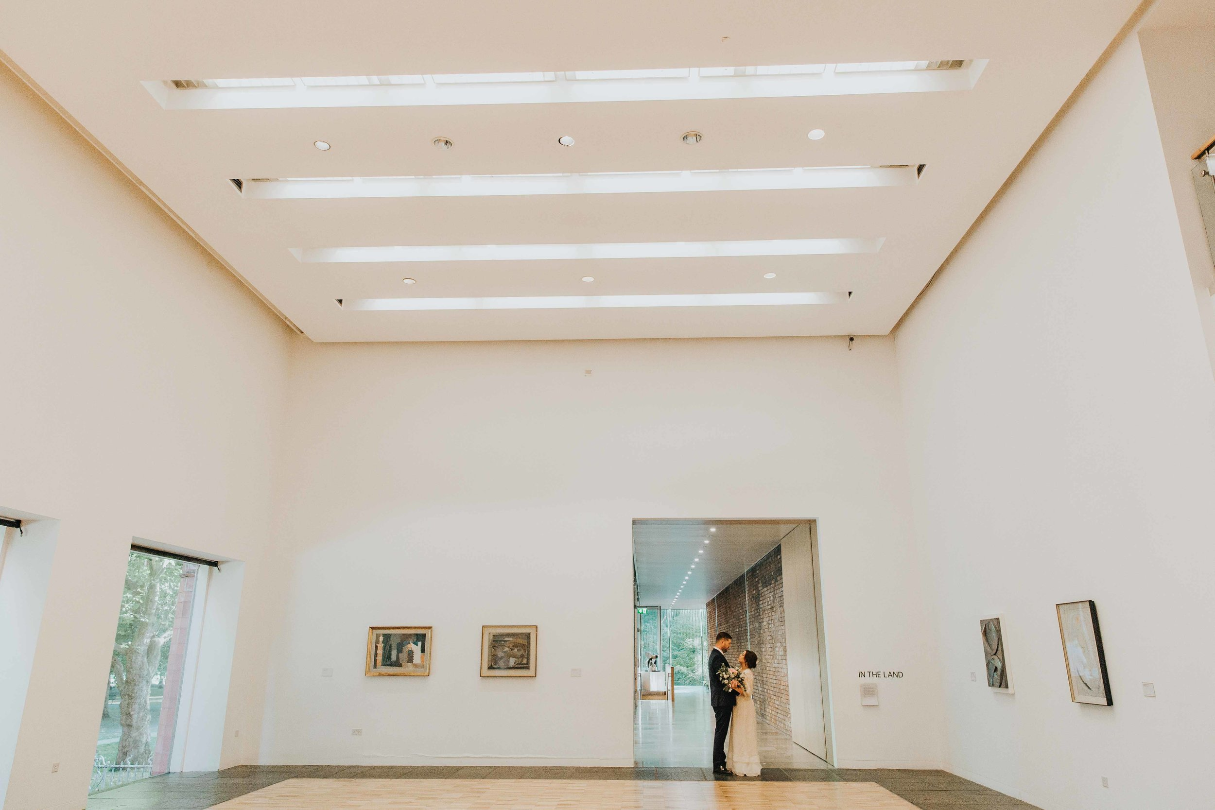 art gallery wedding venues in the UK