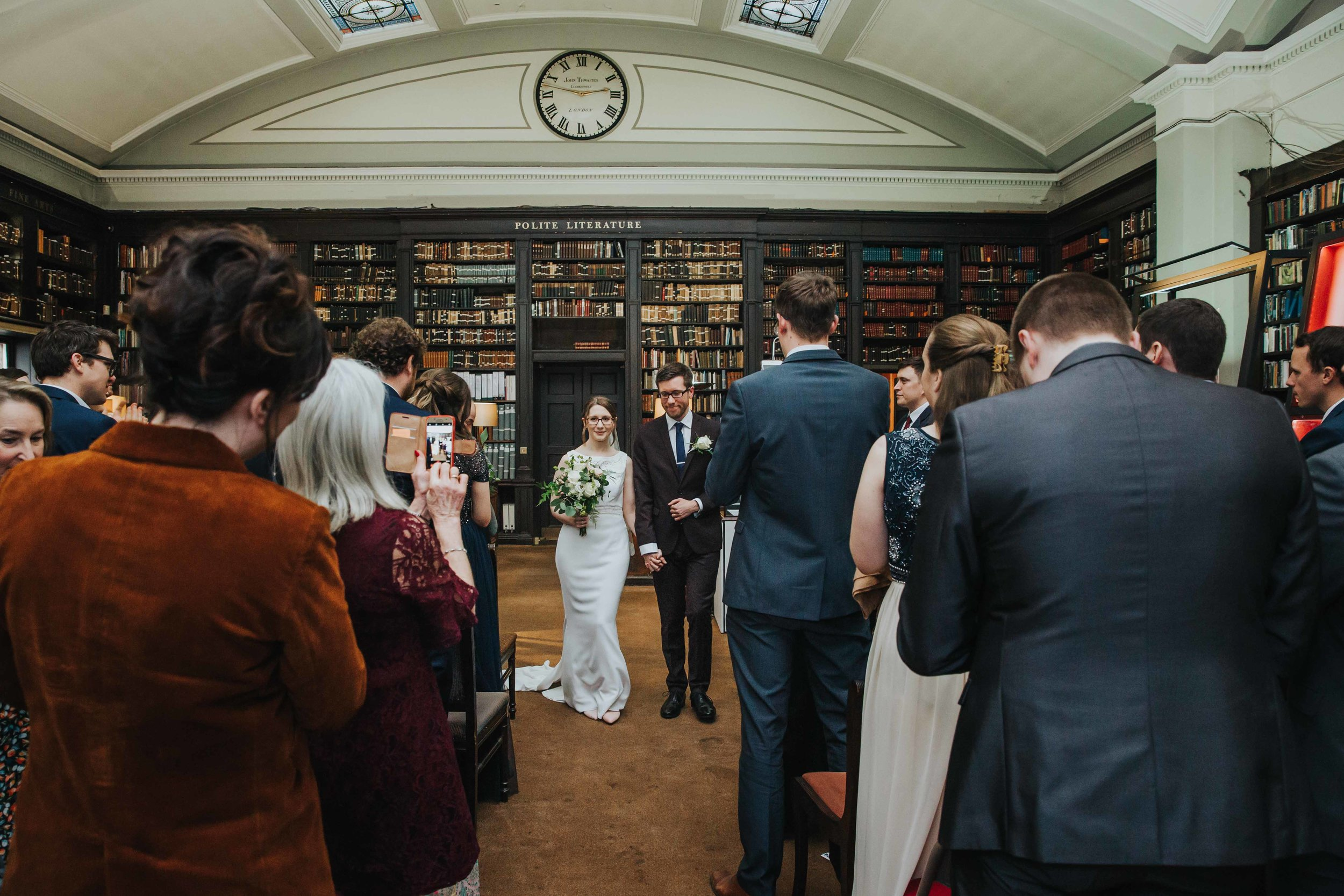 Library wedding venue