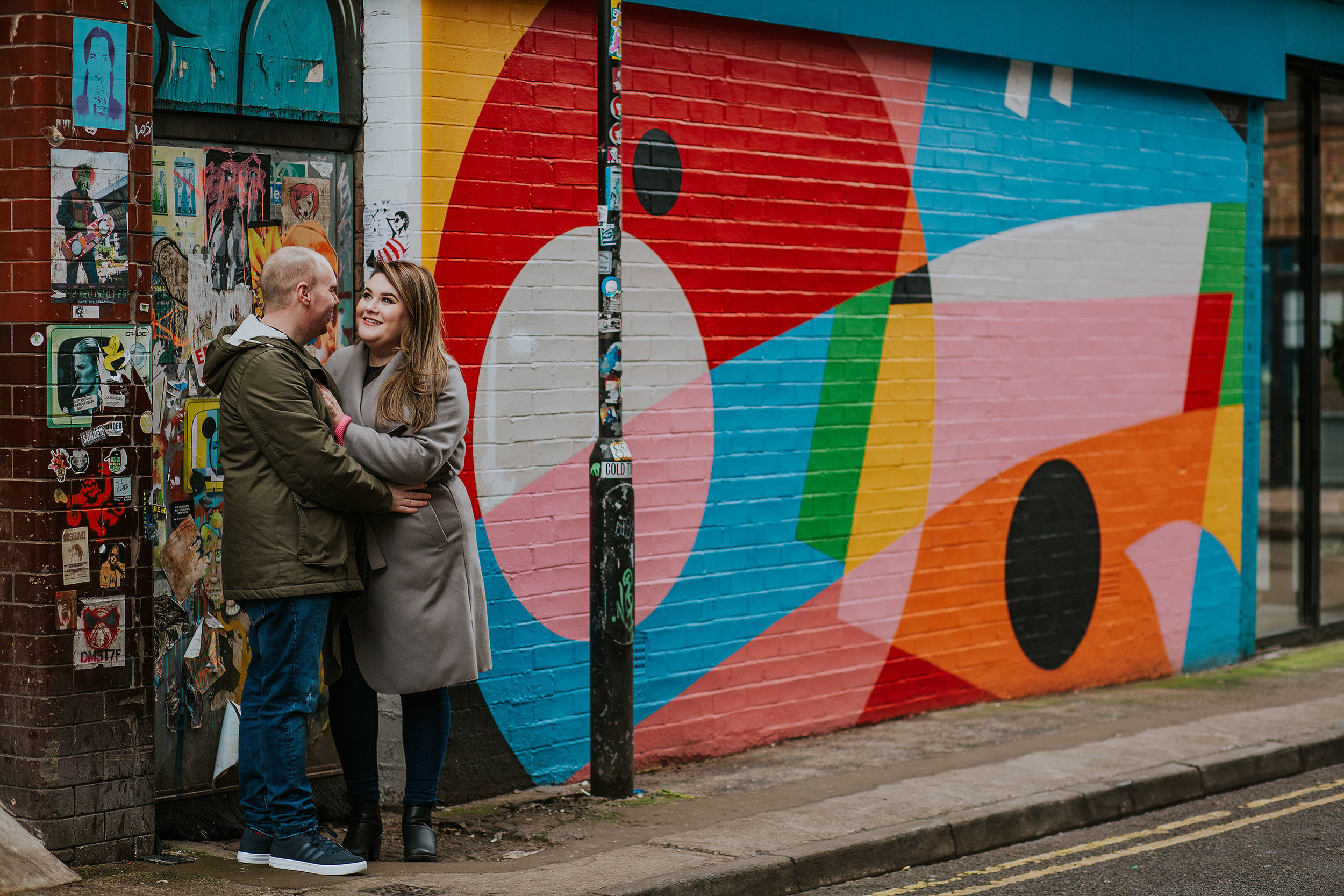 Northern Quarter engagement photography