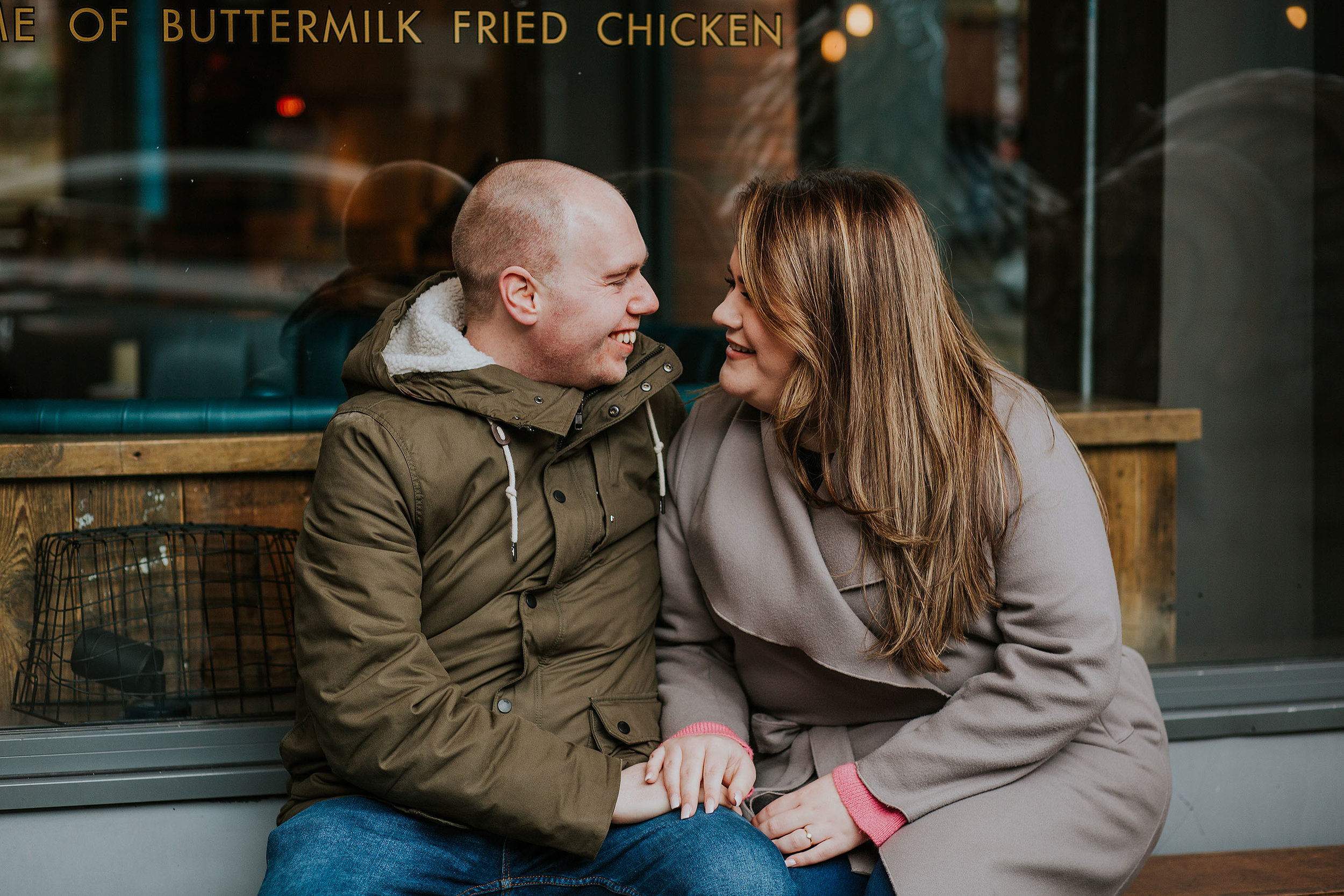 engagement photos in Manchester