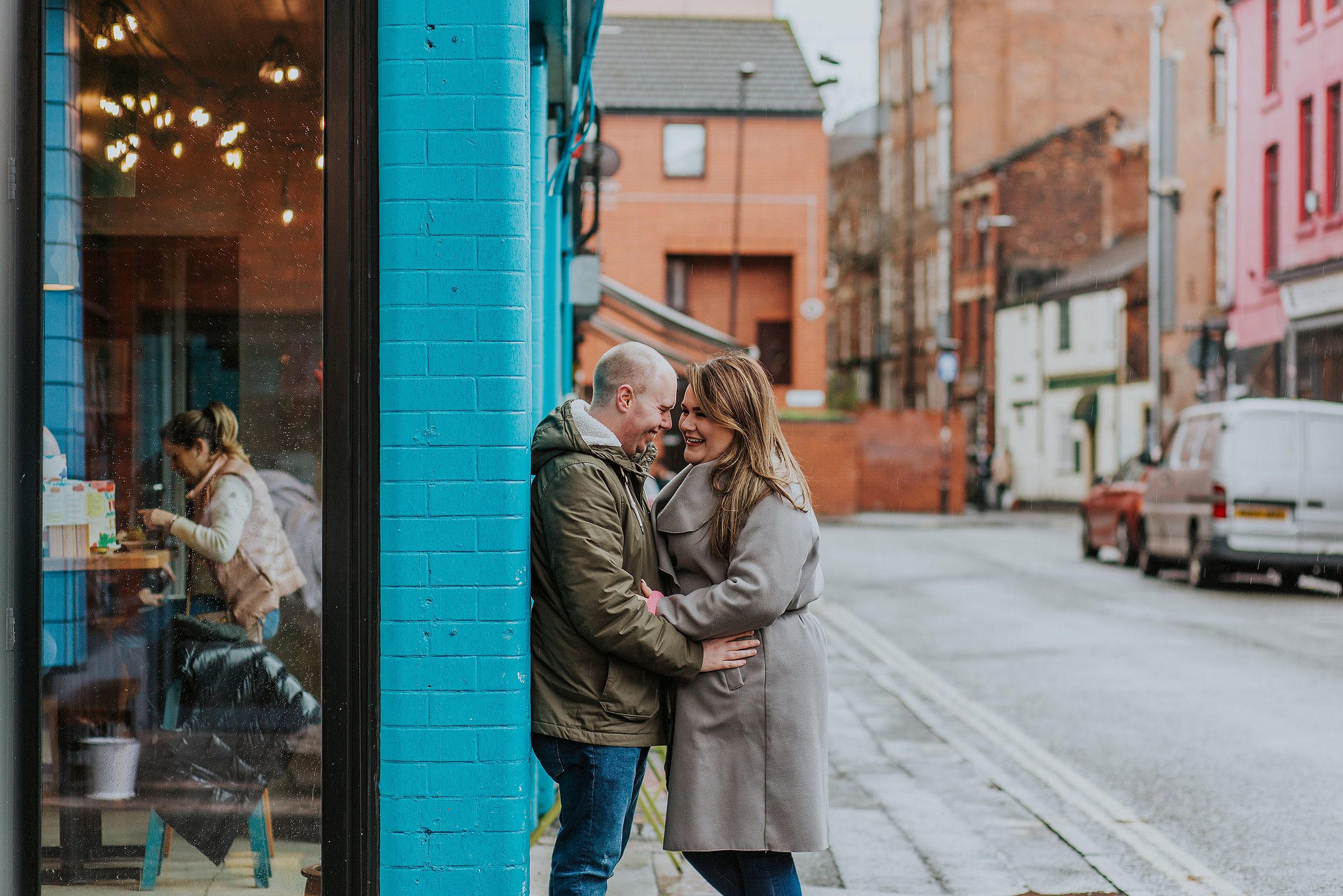 Northern Quarter alternative wedding photographer