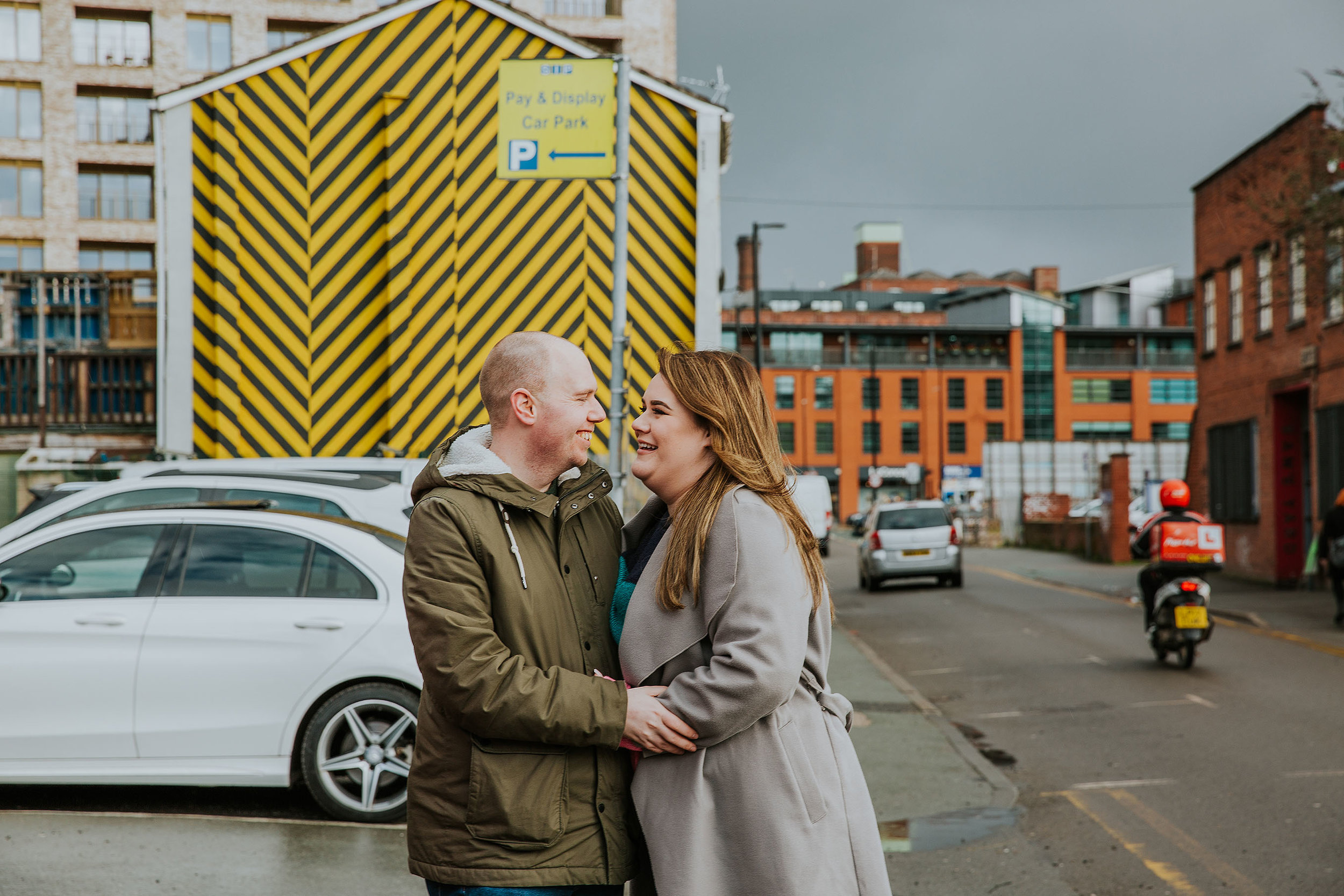 Northern Quarter engagement photos