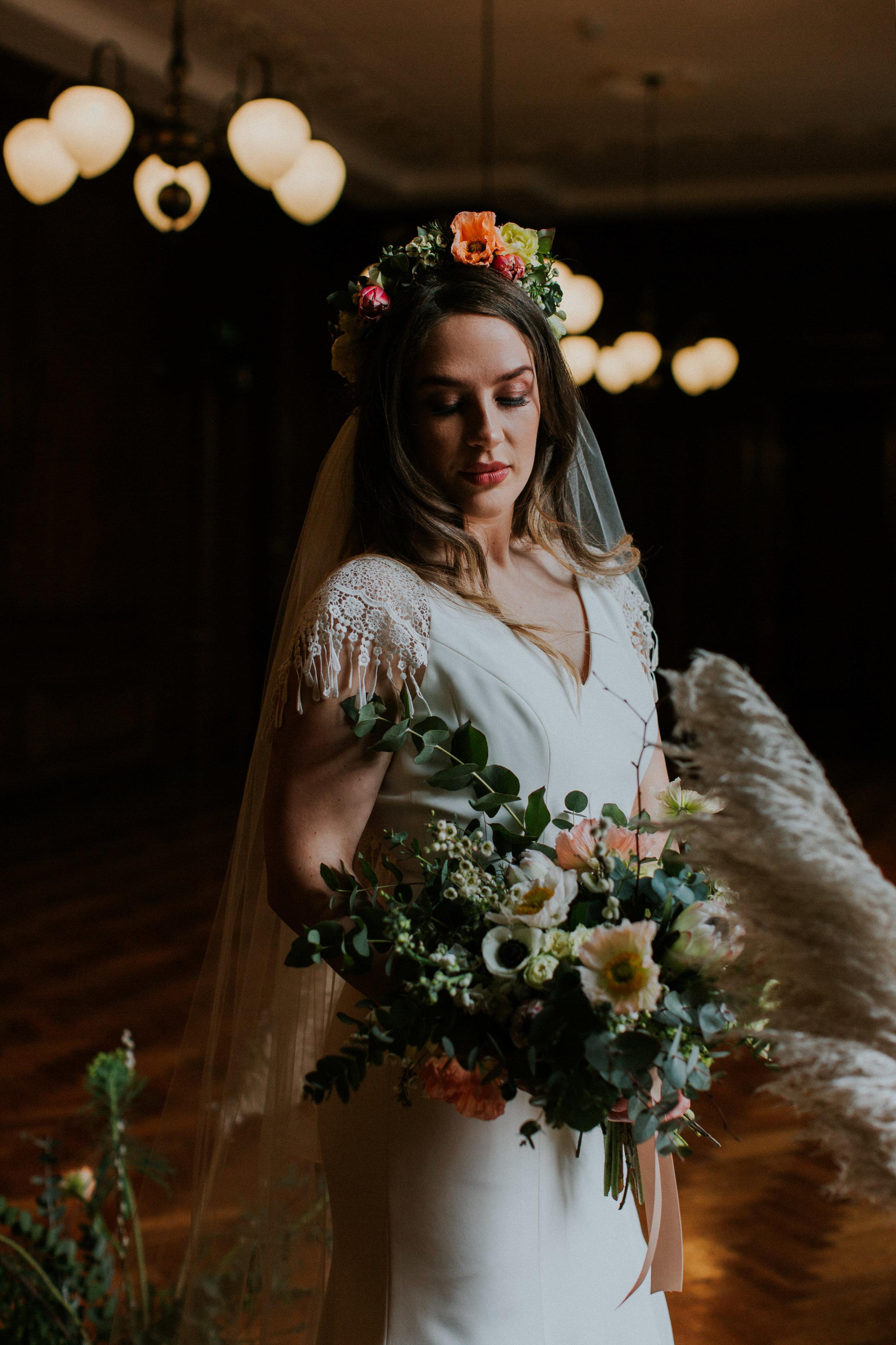 bohemian wedding Manchester