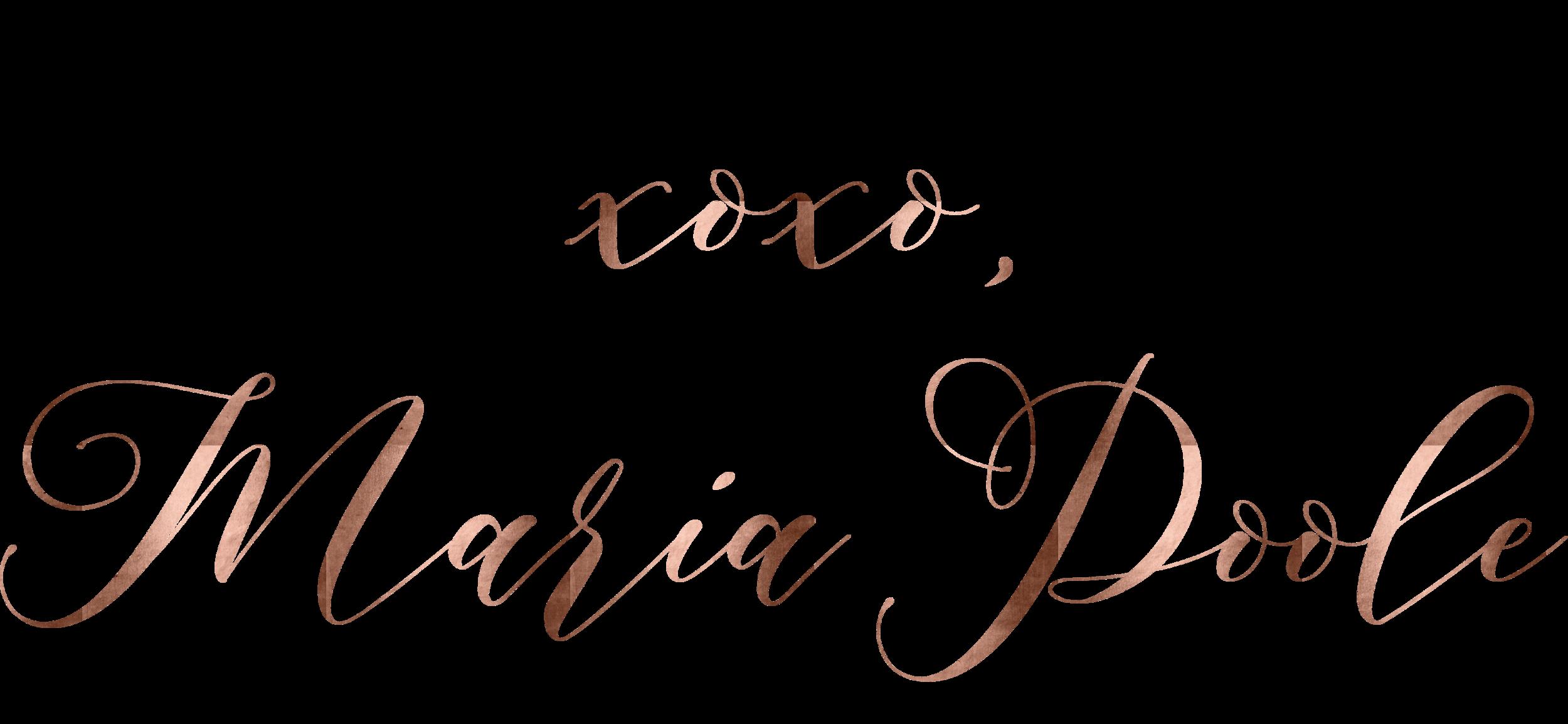 maria poole