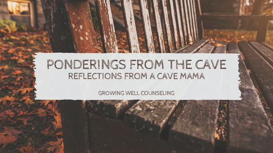ponderings from the cave