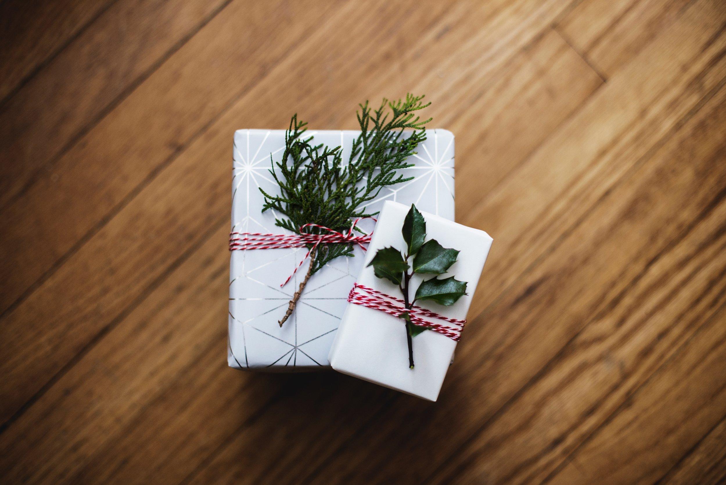 pretty gift wrap