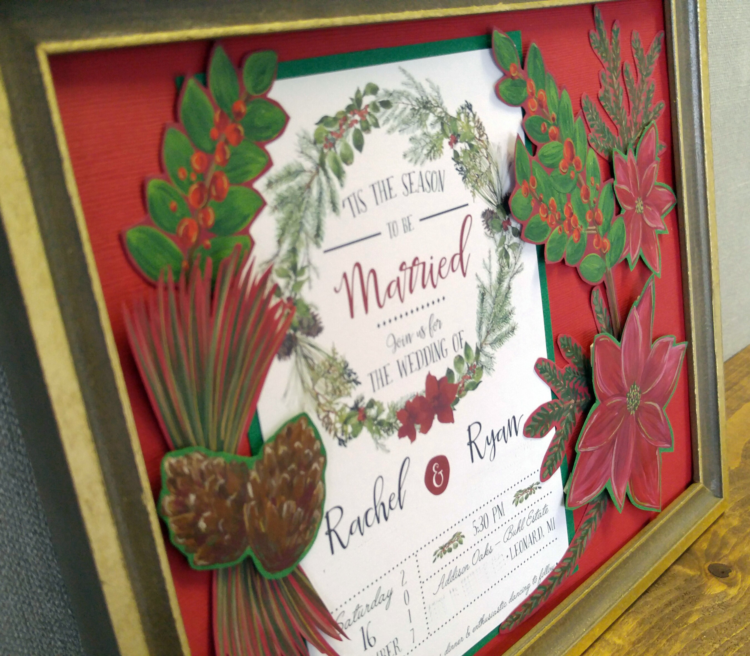 meaningful christmas gift for newlyweds