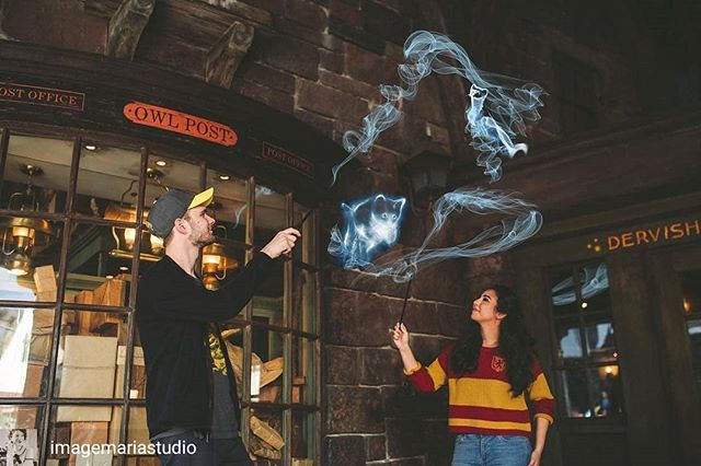 Forget the traditional engagement photos - check out this awesome #harrypotter photo session! . . Reposted from @imagemariastudio -  If you're a nerd, you need a nerd photographer. Someone who almost out-nerds you. Someone who will basically read your mind and give you more than you bargained for.  Magical photographs here! http://www.mandamariephoto.com/wizarding-world-engagement-orlando-fl/ . . #expectopatronum #wizardingworldofharrypotter #patronus #harrypotternerd #potterheads #harrypotterwedding #nerdphotographer #orlandoweddingphotographer #orlandoengagement #orlandoengagementphotographer #hogsmeade #hogwartsbound #harrypotterphotography #imágemmagicportraits - #regrann
