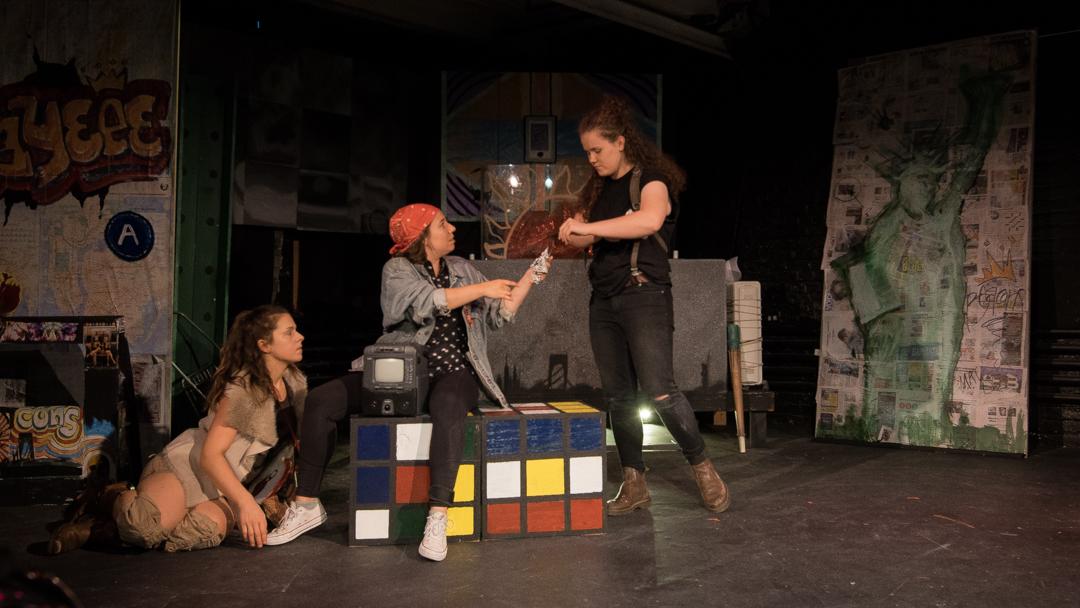 The Beacons by Georgina Escobar Directed by J. Julian Christopher Featuring:Stephanie Chloe, Ashley Alvarez, Ksenia Volynkina