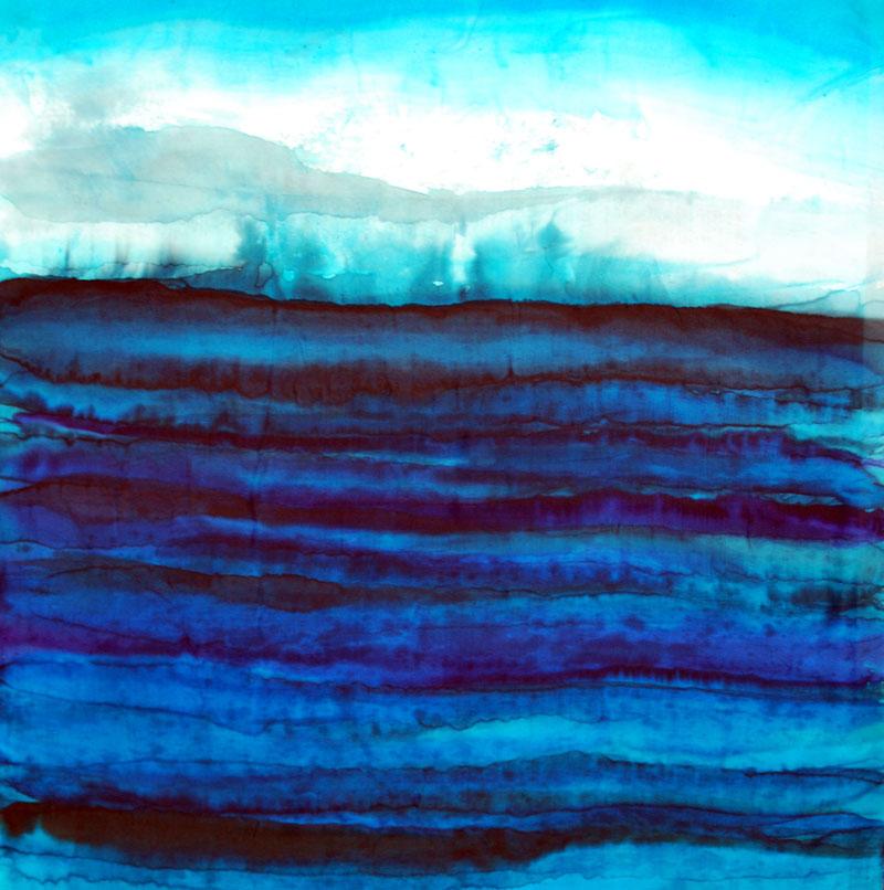 jana lamberti silk art seascapes