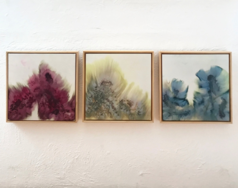 jana lamberti silk art new collection strewn