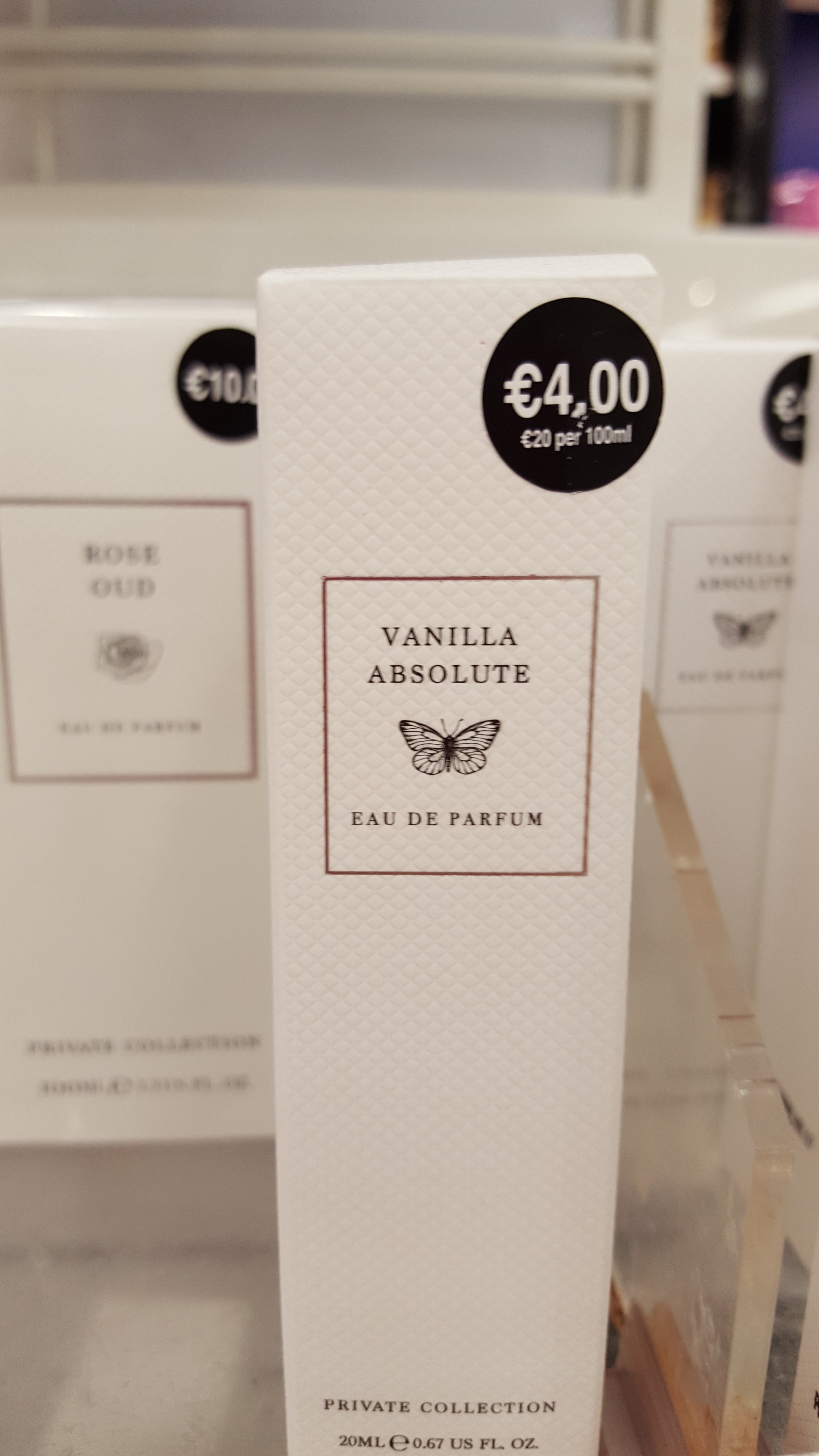 This dreamy vanilla perfume in handbag size will save you using your fancy stuff midweek.