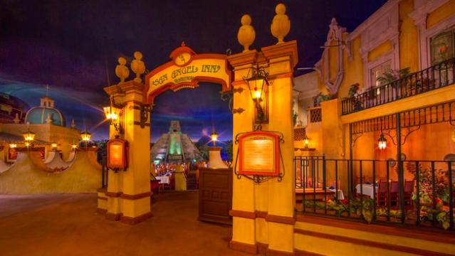 San Angel Inn Restaurante   Epcot® Park   Walt Disney World® Resort   © Disney
