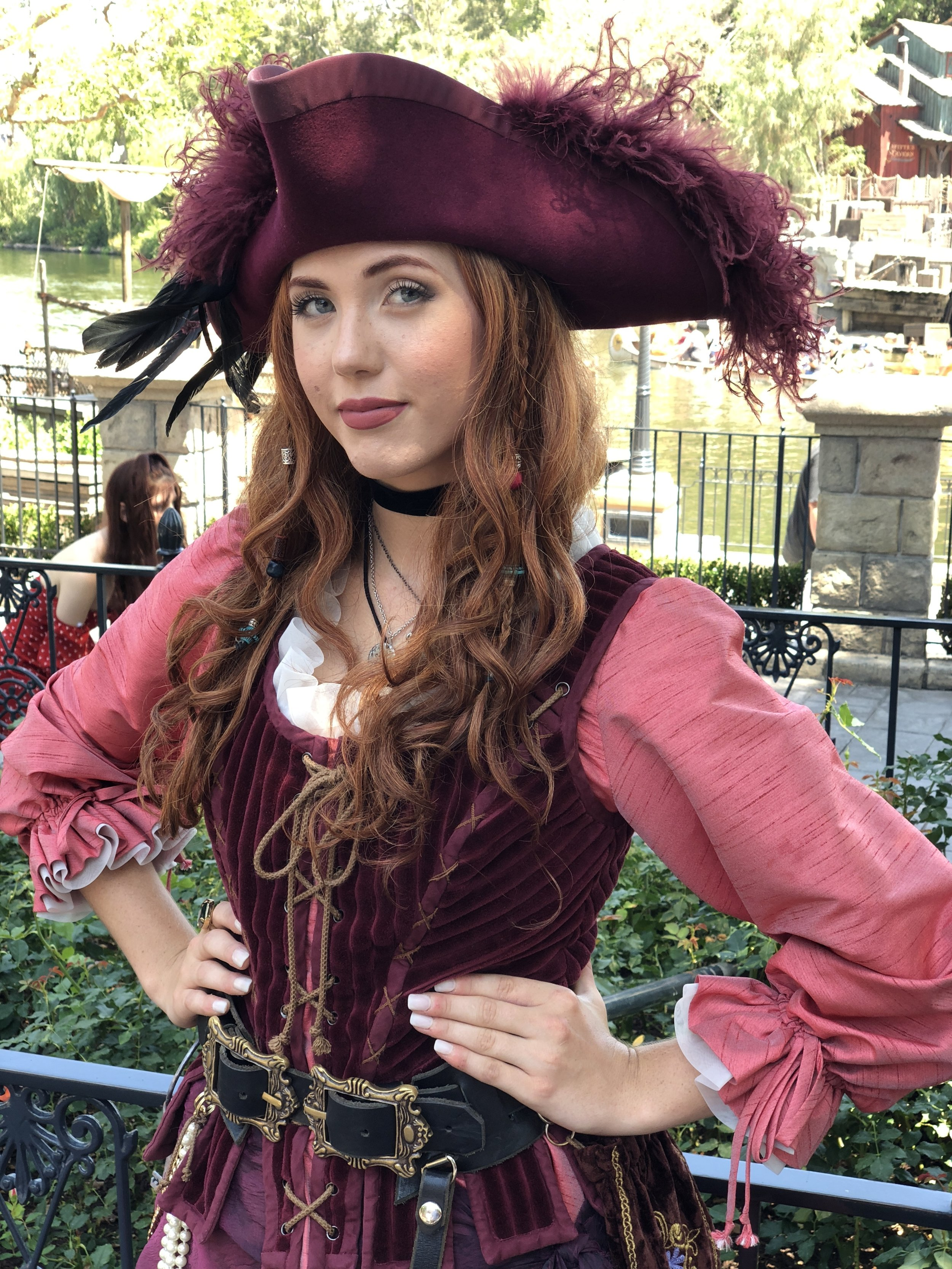 'Red' from Pirates of the Caribbean