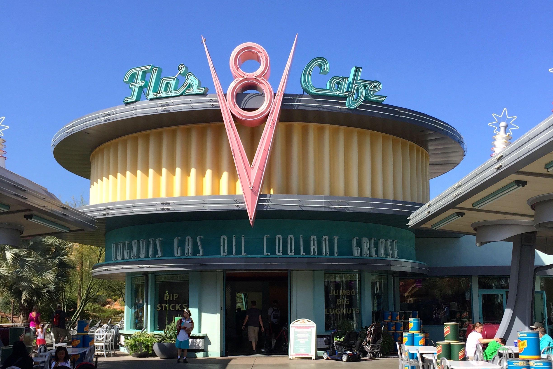 FLO'S V8 CAFE | CALIFORNIA ADVENTURE PARK