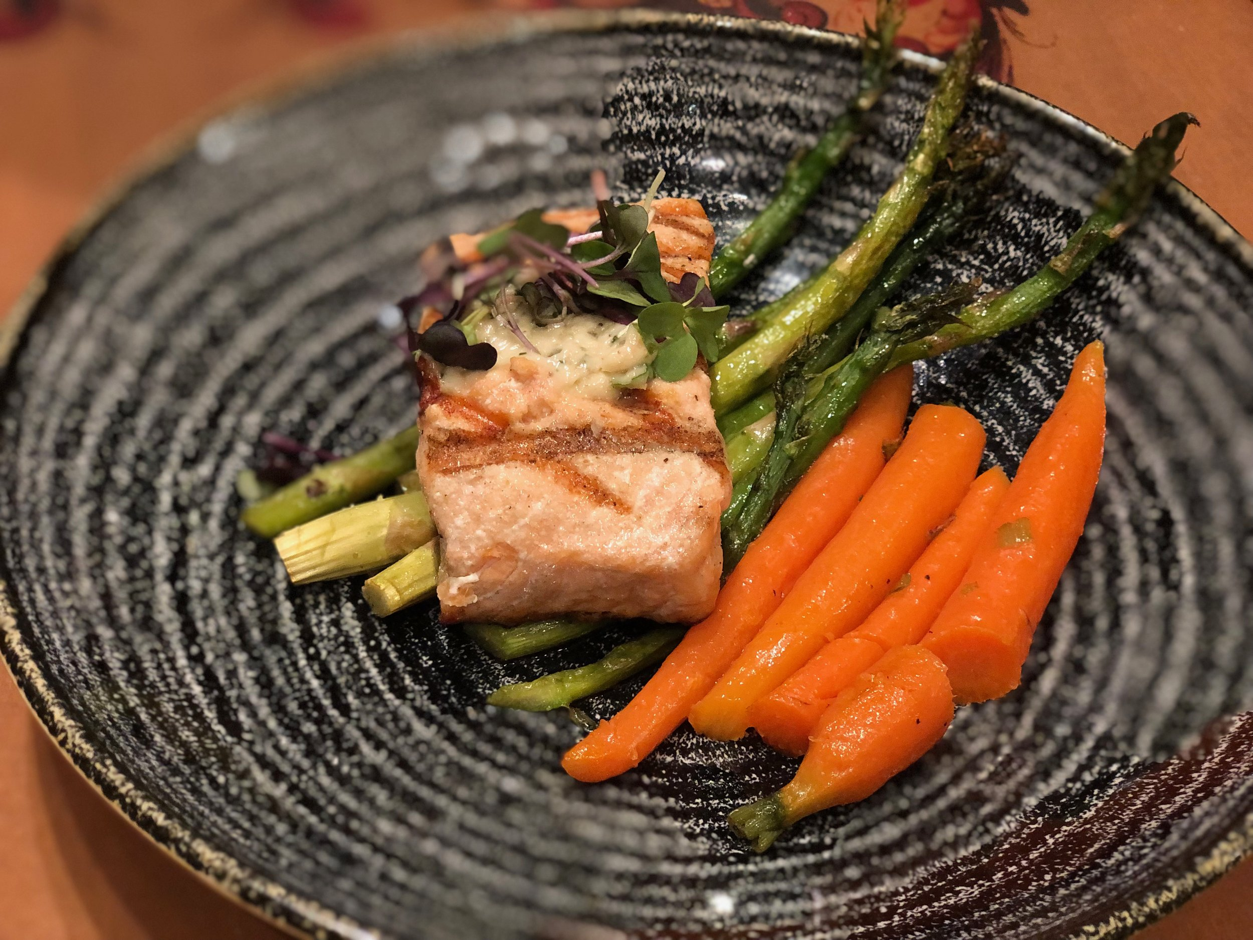 Laks - Grilled Fillet of Salmon