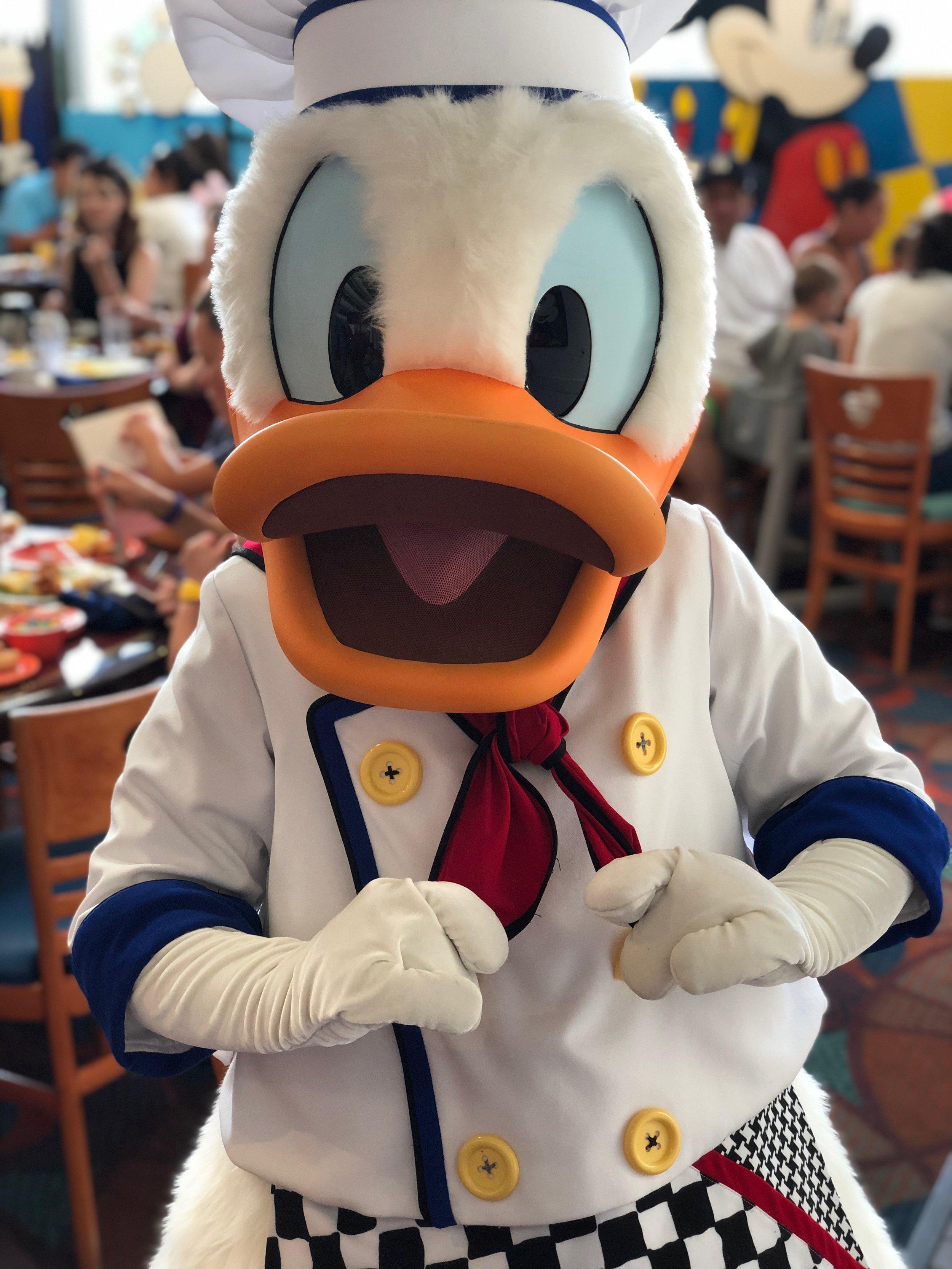 Donald Duck - Chef Mickey's