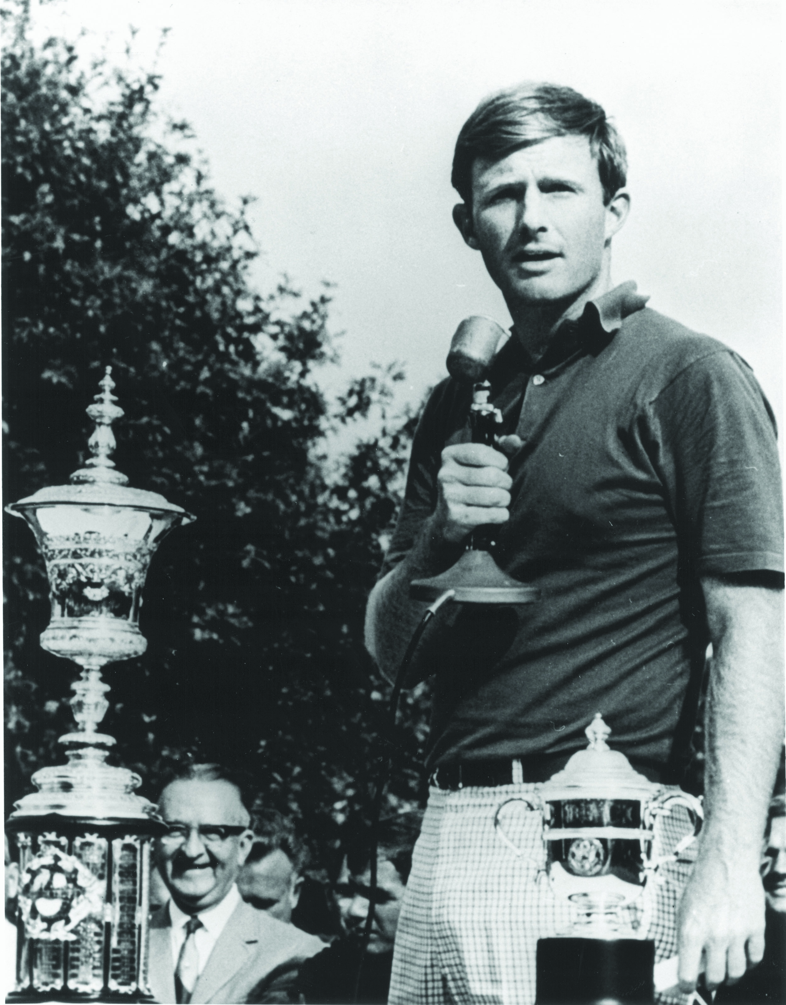 Vinny Giles won the 1972 U.S. Amateur at Charlotte, the first of four USGA championships held at the club.