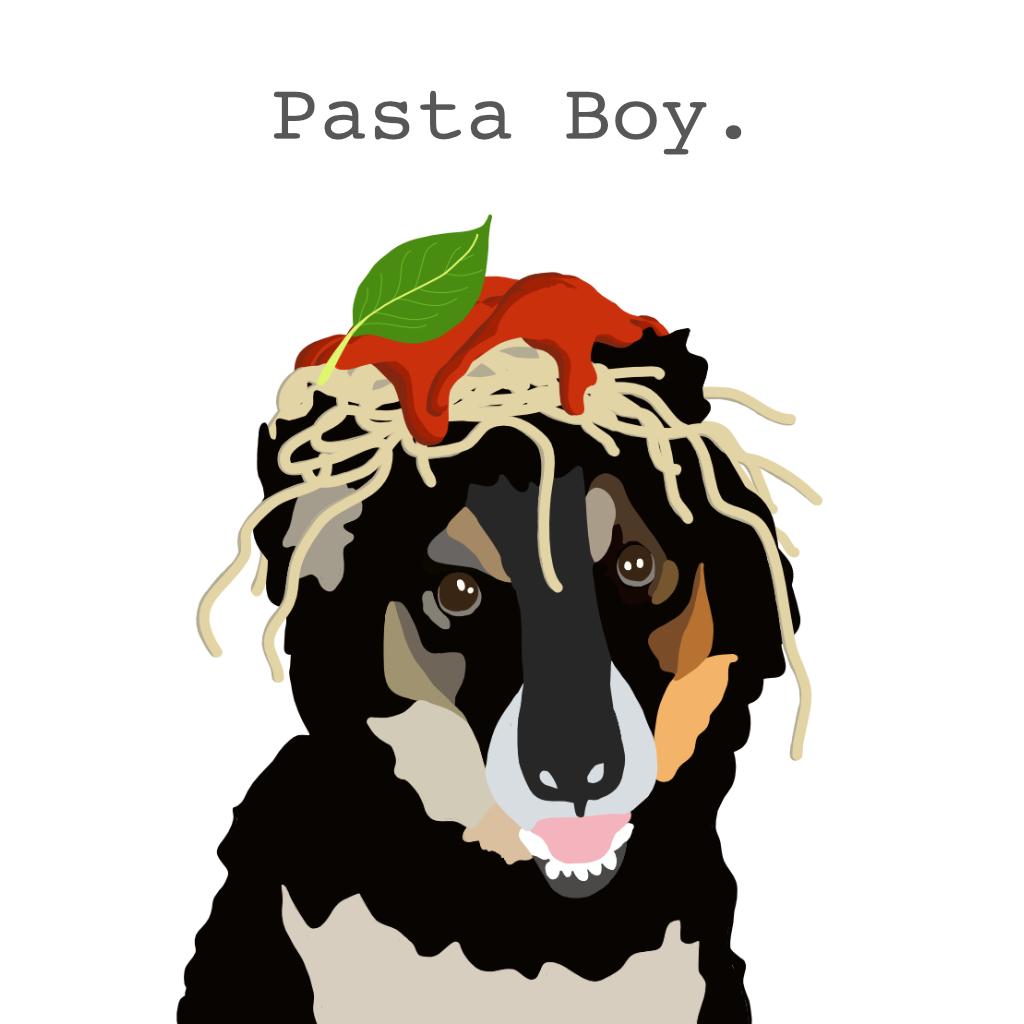 Pasta Boy Logo With Name