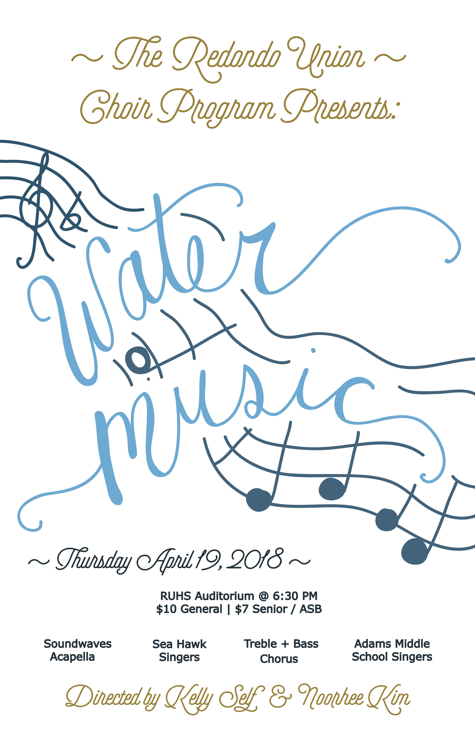 Water Music 11 x 17