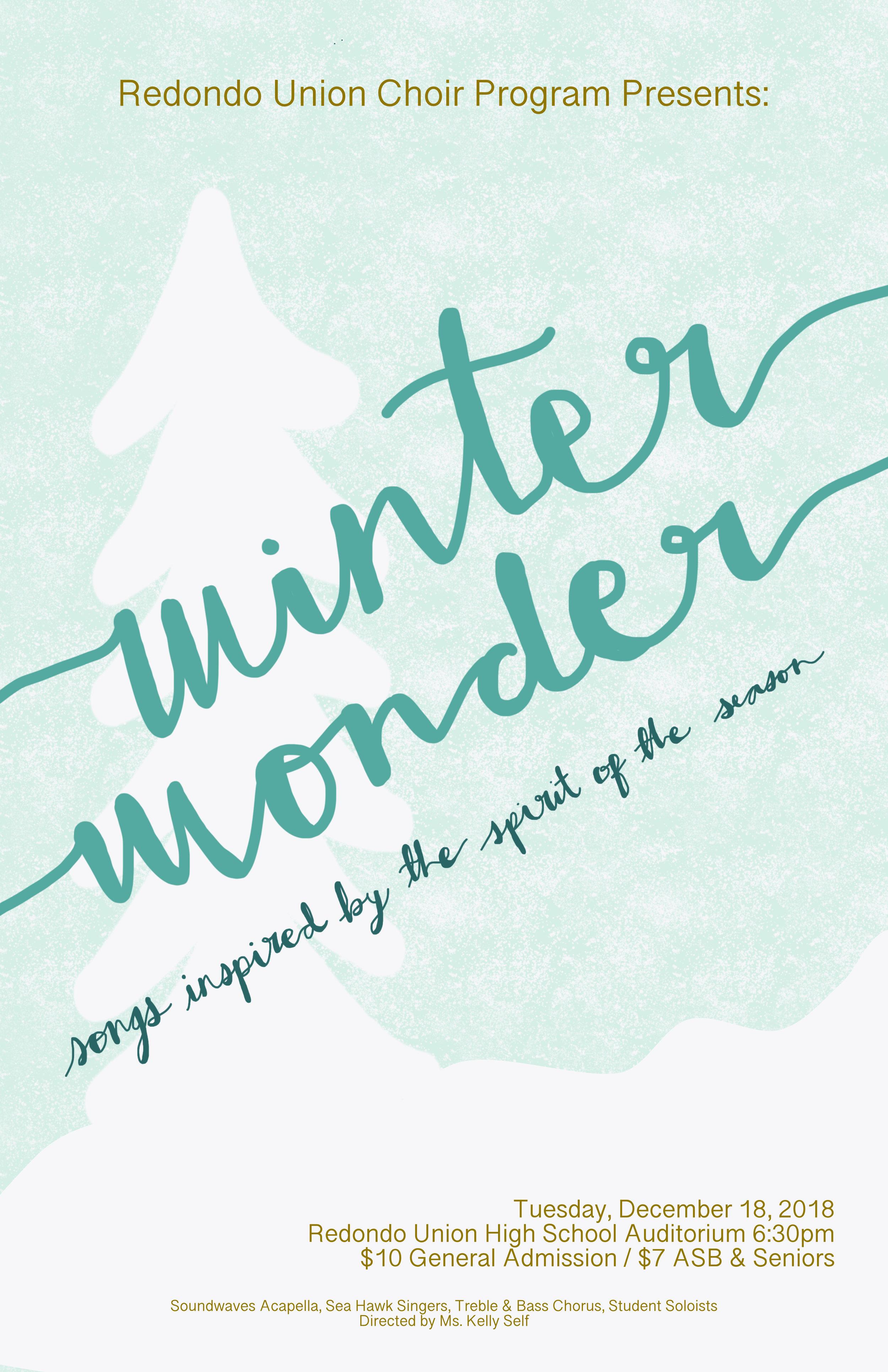 Winter Wonder 11 x 17