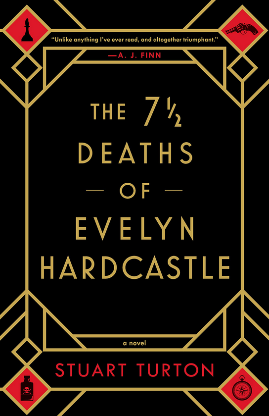 The 7 1/2 Deaths of Evelyn Hardcastle - Stuart Turton Review via @ginka + ginkaville.com