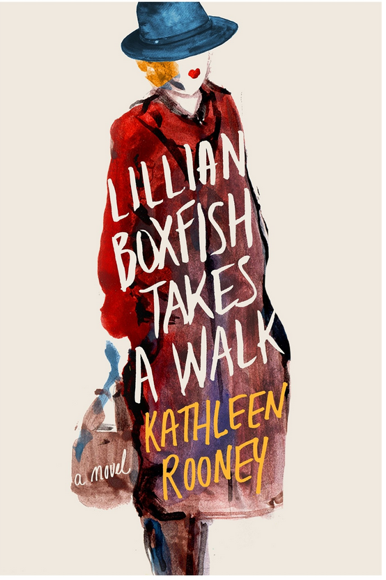 Lillian Boxfish Takes a Walk - Kathleen Rooney Review via @ginka + ginkaville.com