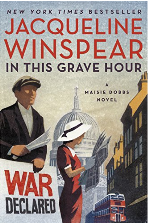 In This Grave Hour - Jacqueline Winspear Review via @ginka + ginkaville.com