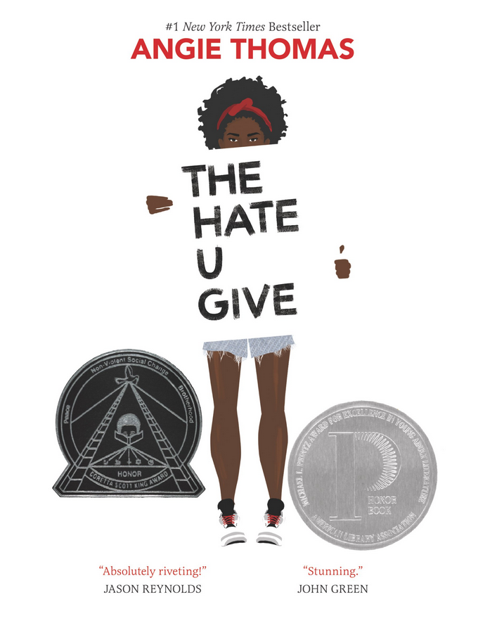 The Hate You Give - Angie Thomas Review via @ginka + ginkaville.com