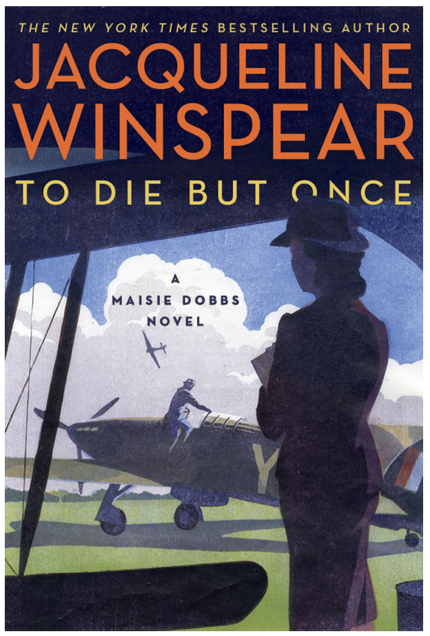 To Die But Once - Jacqueline Winspear Review via @ginka + ginkaville.com